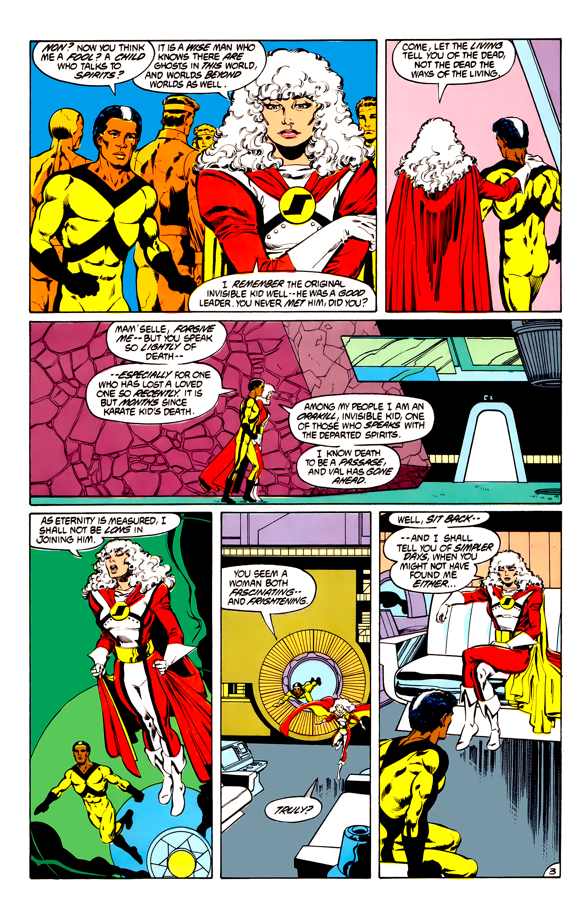 Legion of Super-Heroes (1984) 31 Page 3