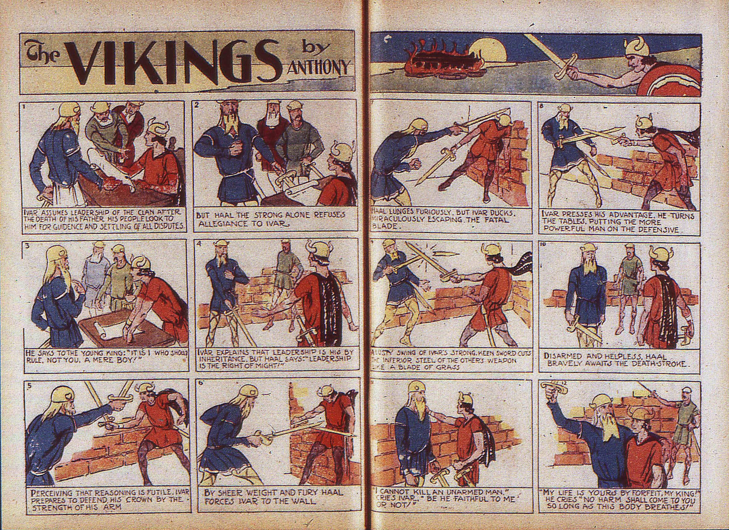 Read online Adventure Comics (1938) comic -  Issue #5 - 35