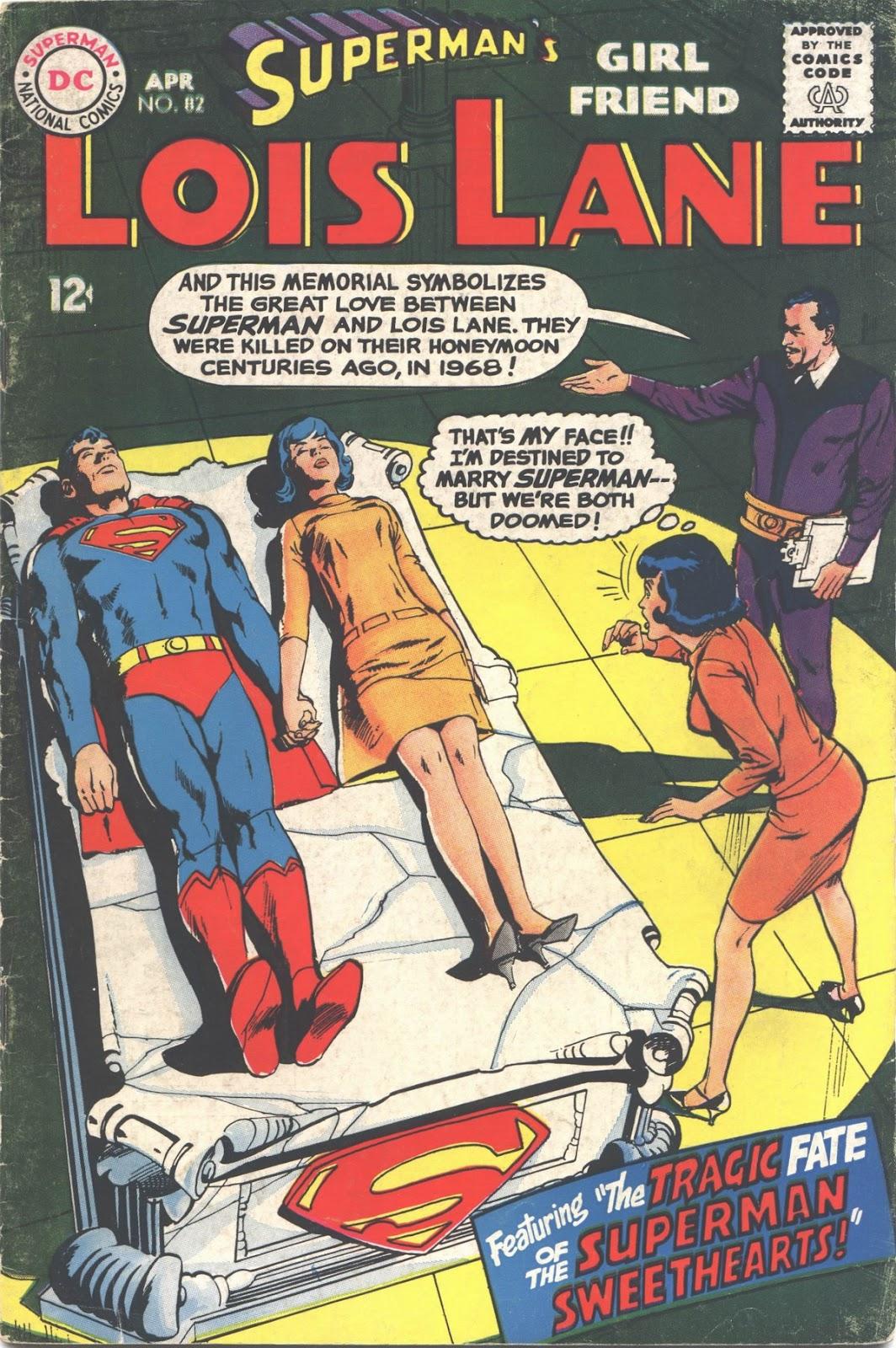 Supermans Girl Friend, Lois Lane 82 Page 1