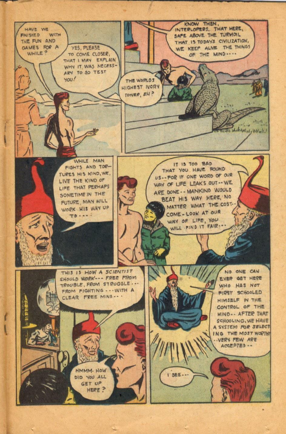 Read online Super-Magician Comics comic -  Issue #52 - 30