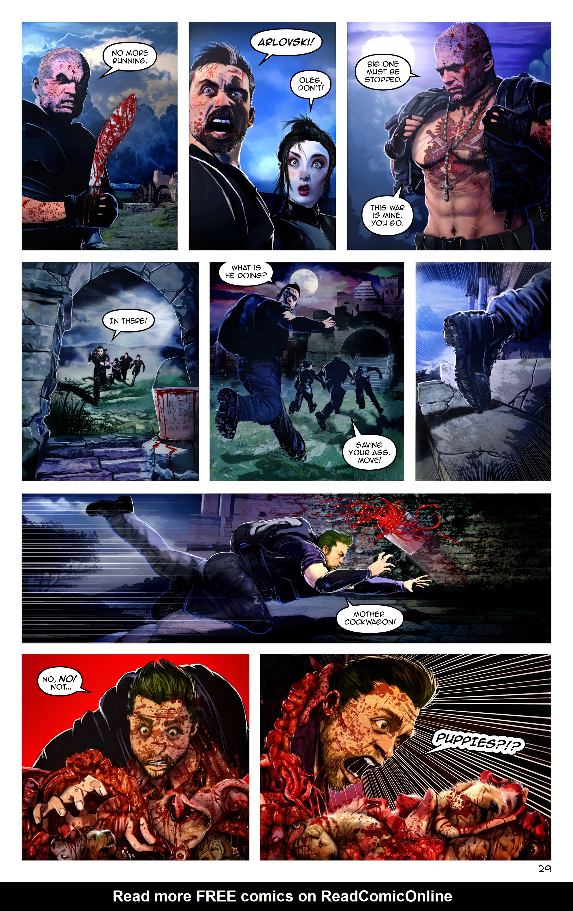 Read online Escape from Jesus Island comic -  Issue #3 - 29