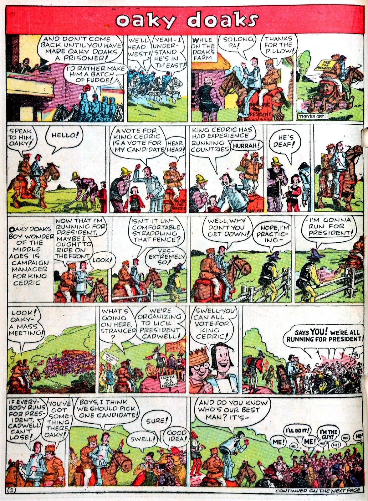 Read online Famous Funnies comic -  Issue #43 - 38