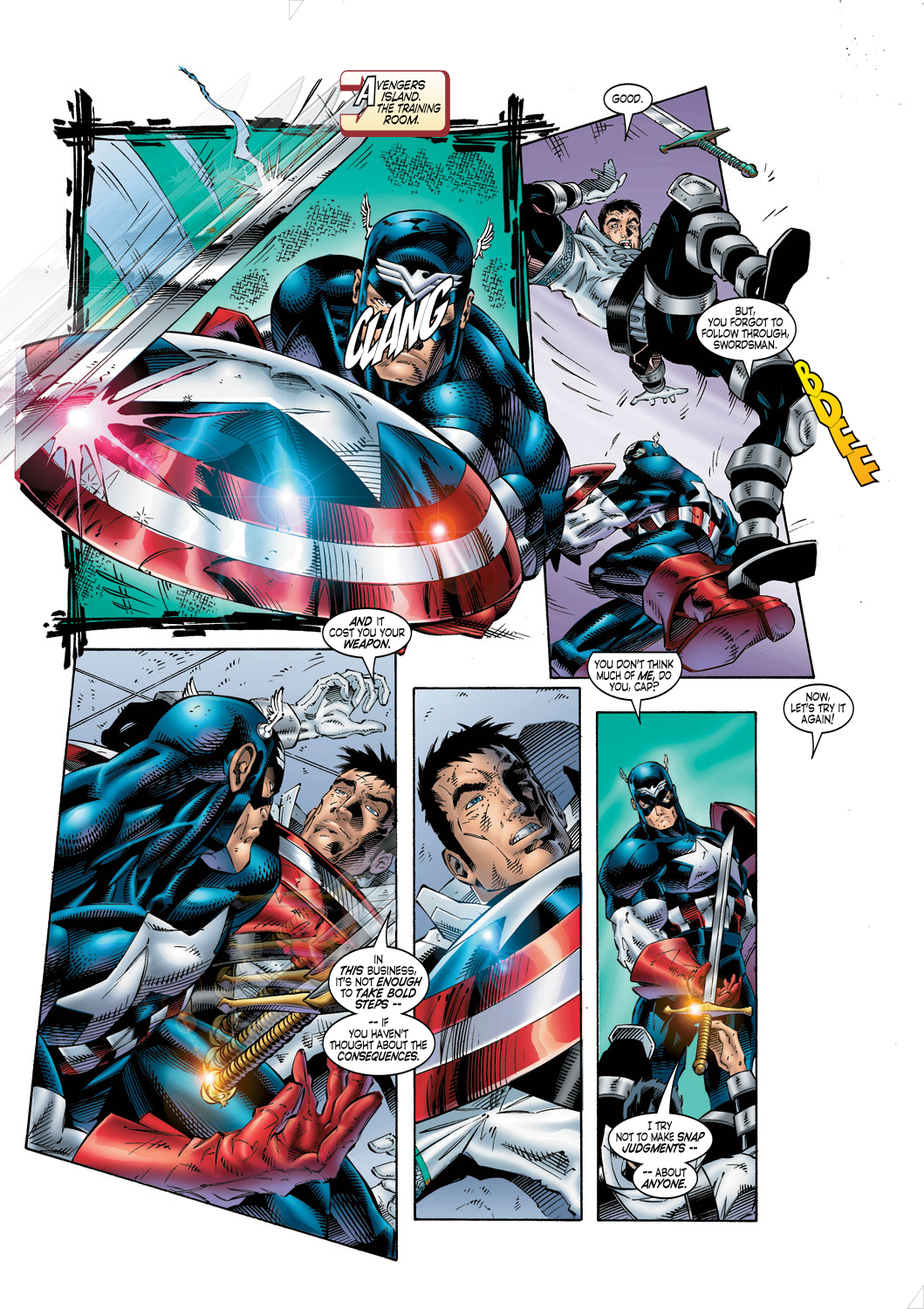 Read online Avengers (1996) comic -  Issue #4 - 15