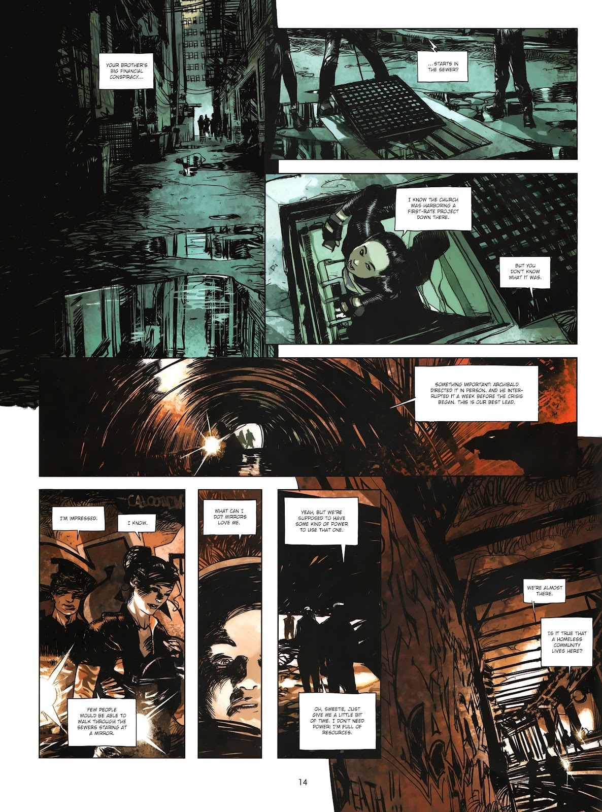 Read online Cutting Edge (2013) comic -  Issue #4 - 11
