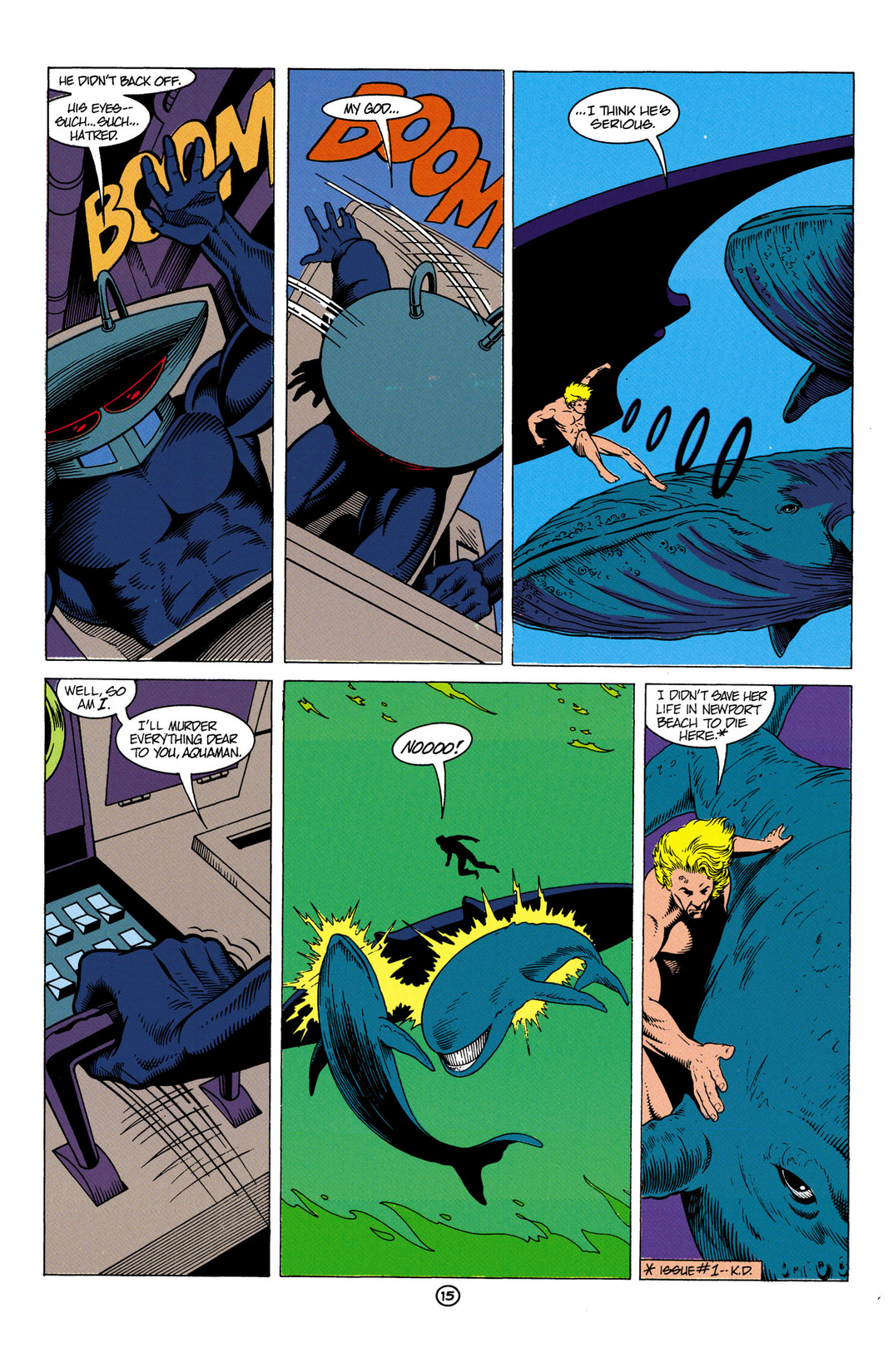 Read online Aquaman (1991) comic -  Issue #6 - 16
