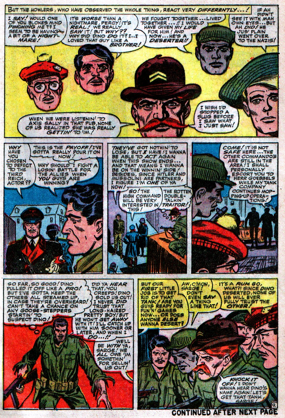 Read online Sgt. Fury comic -  Issue #12 - 13