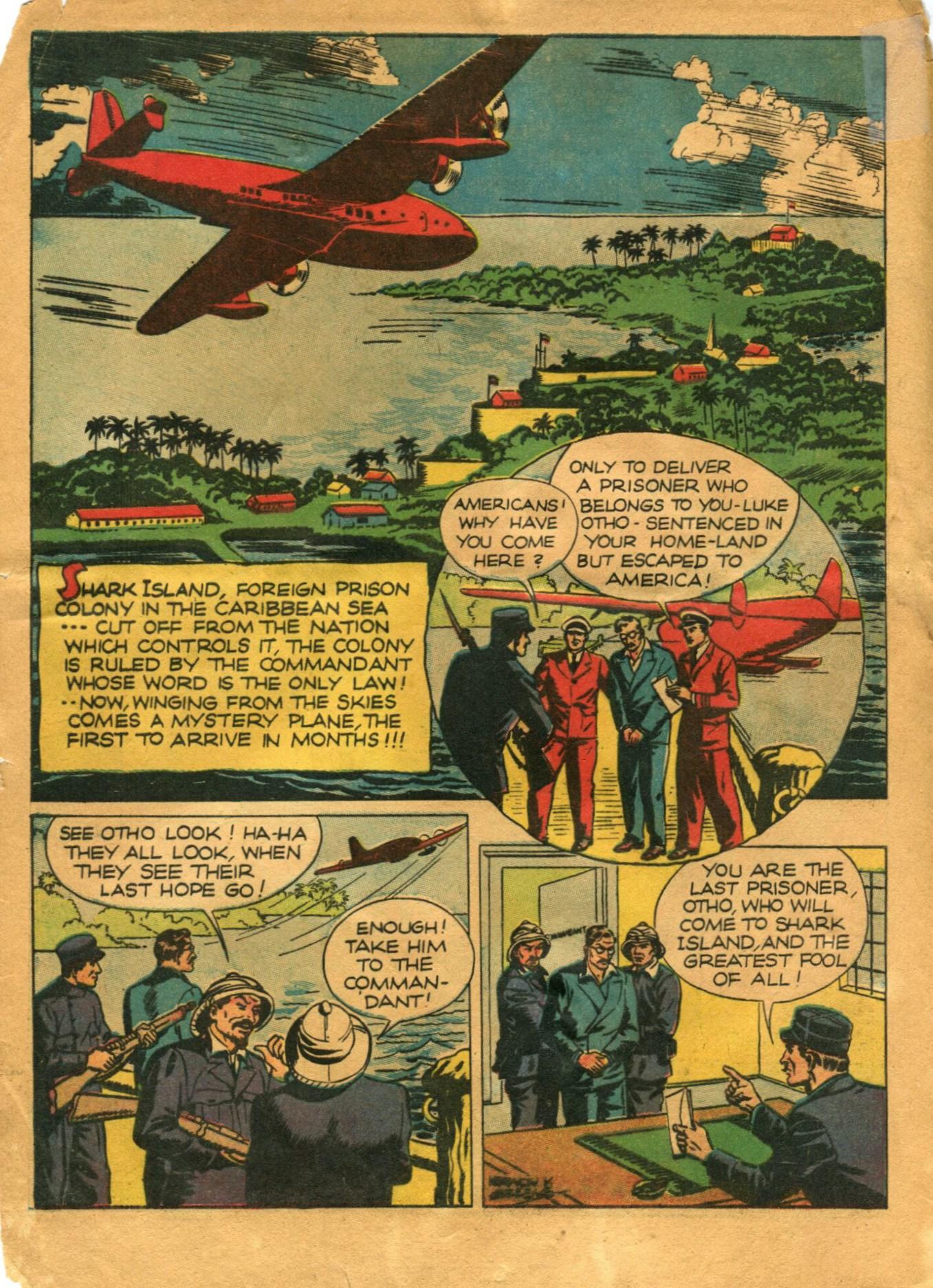 Read online Shadow Comics comic -  Issue #12 - 4