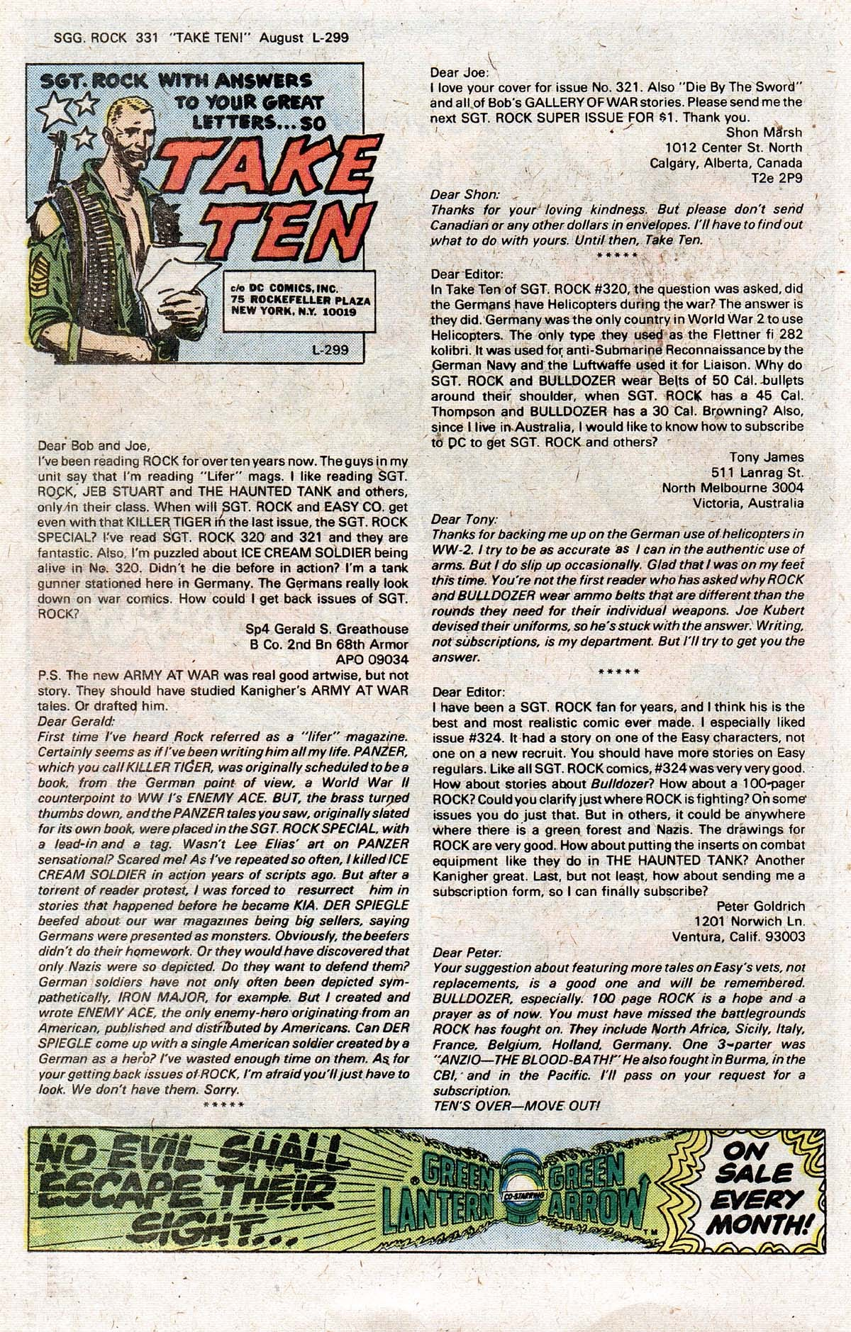 Read online Sgt. Rock comic -  Issue #331 - 22
