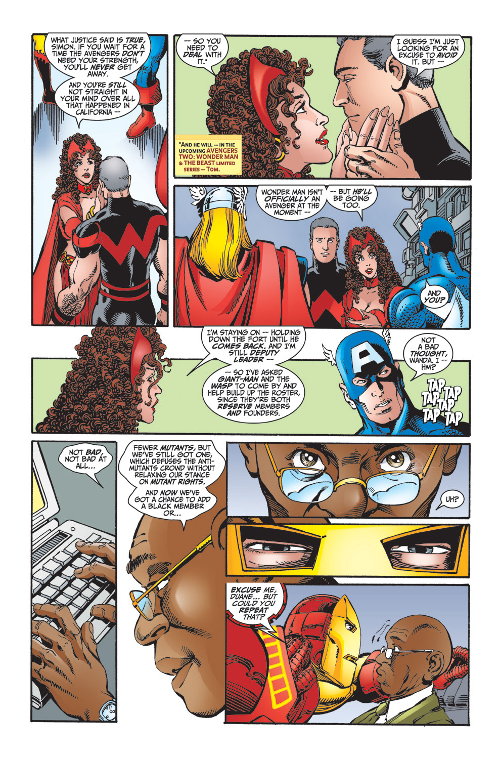 Read online Avengers (1998) comic -  Issue #27 - 5