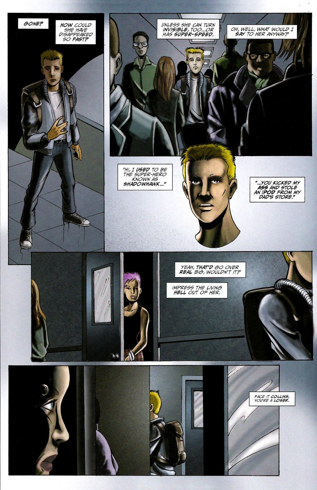 Read online ShadowHawk (2005) comic -  Issue #10 - 16