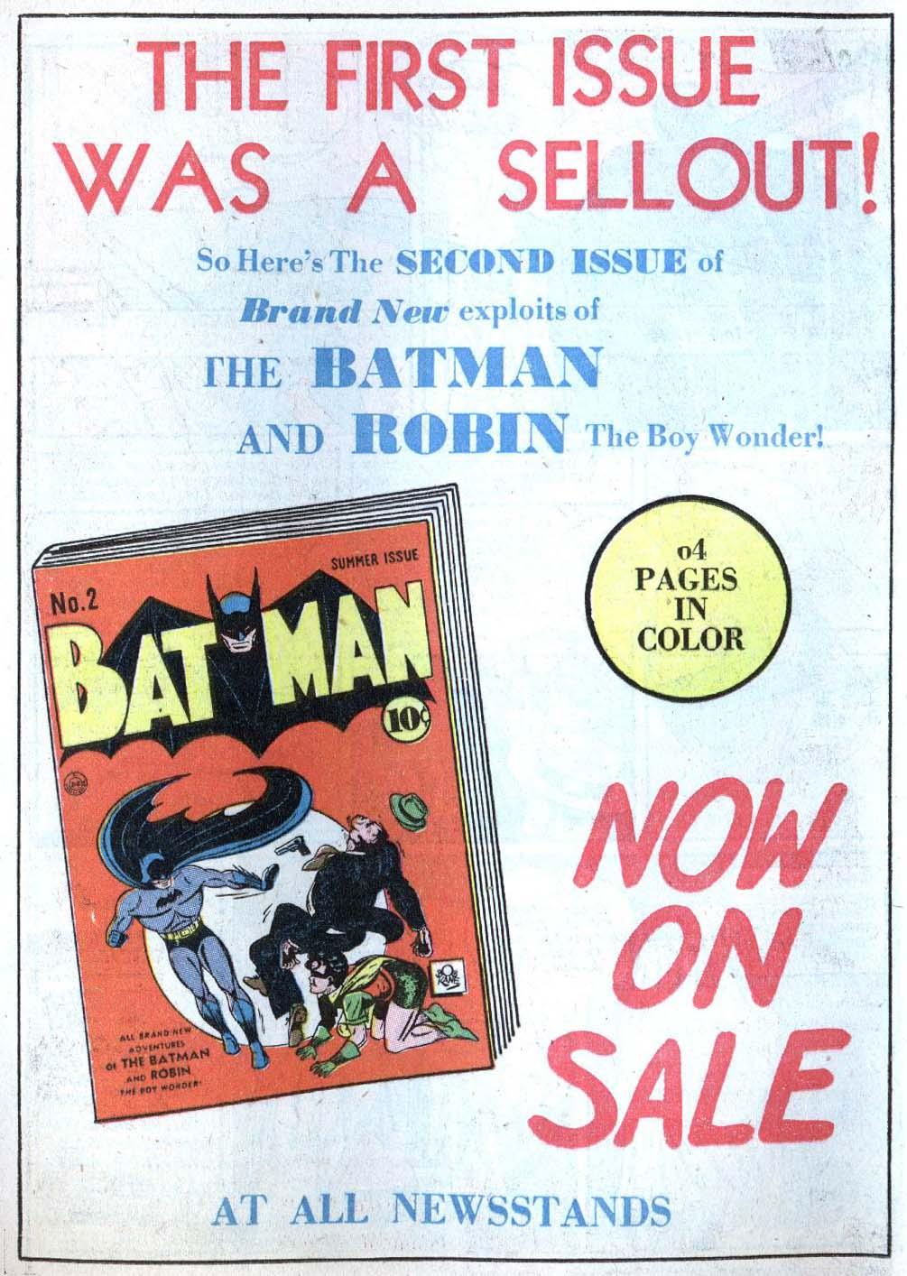 Read online Detective Comics (1937) comic -  Issue #43 - 16