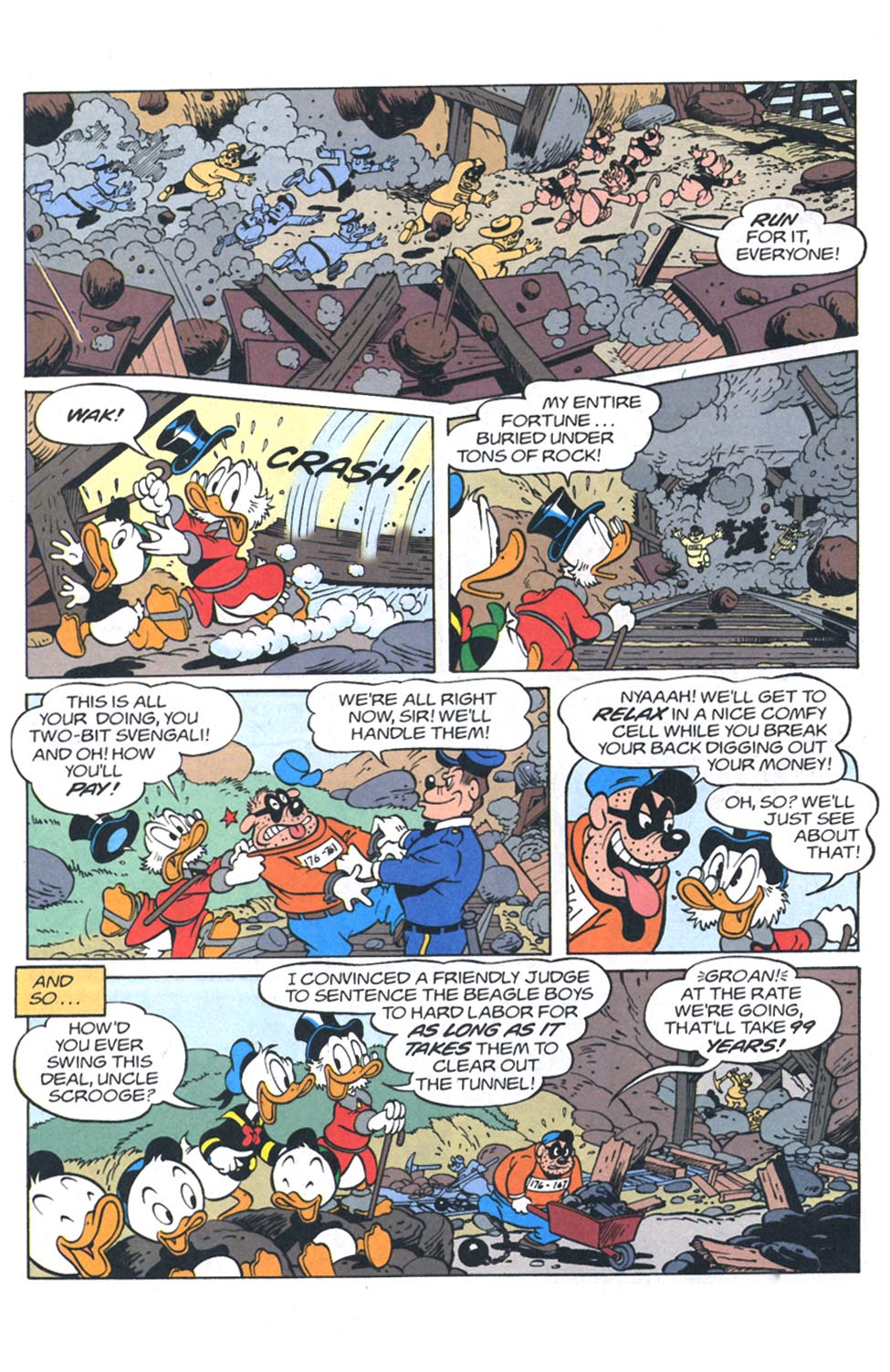 Read online Uncle Scrooge (1953) comic -  Issue #301 - 27