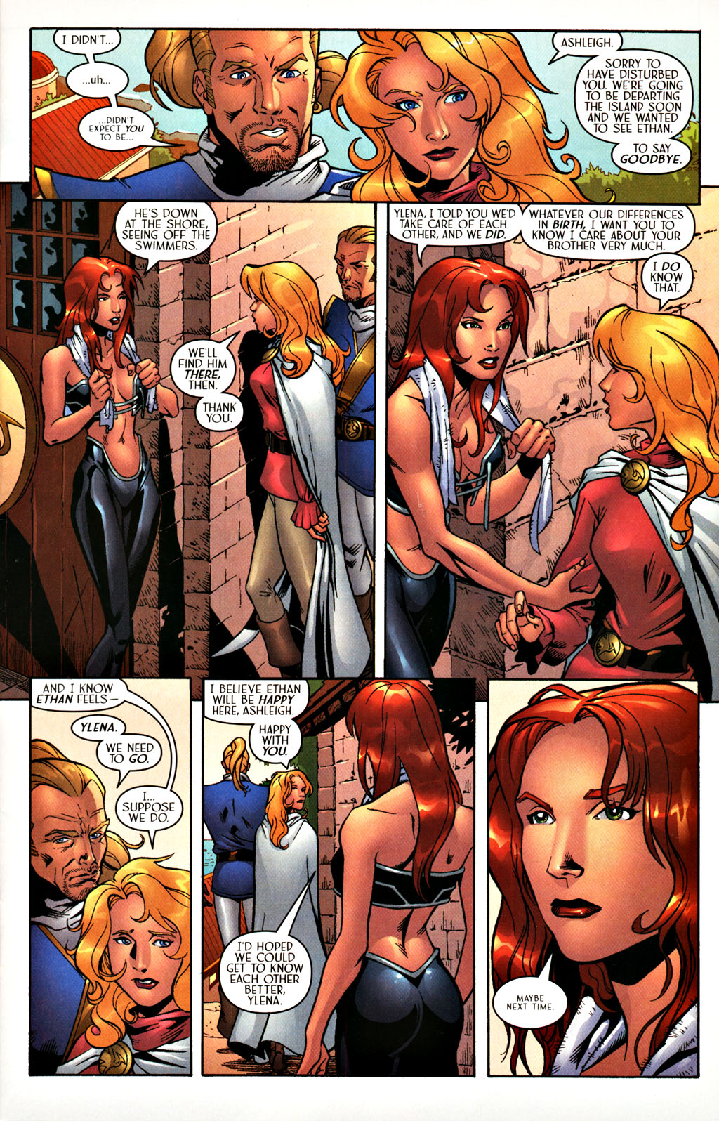 Read online Scion comic -  Issue #27 - 6