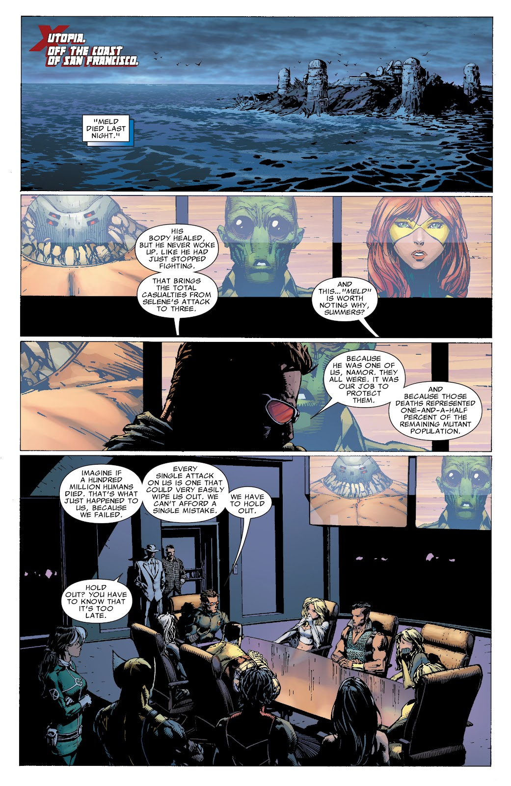 Read online X-Men: Second Coming comic -  Issue # _TPB (Part 1) - 20