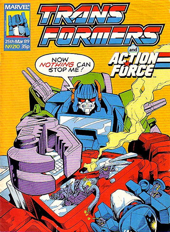 The Transformers (UK) 210 Page 1