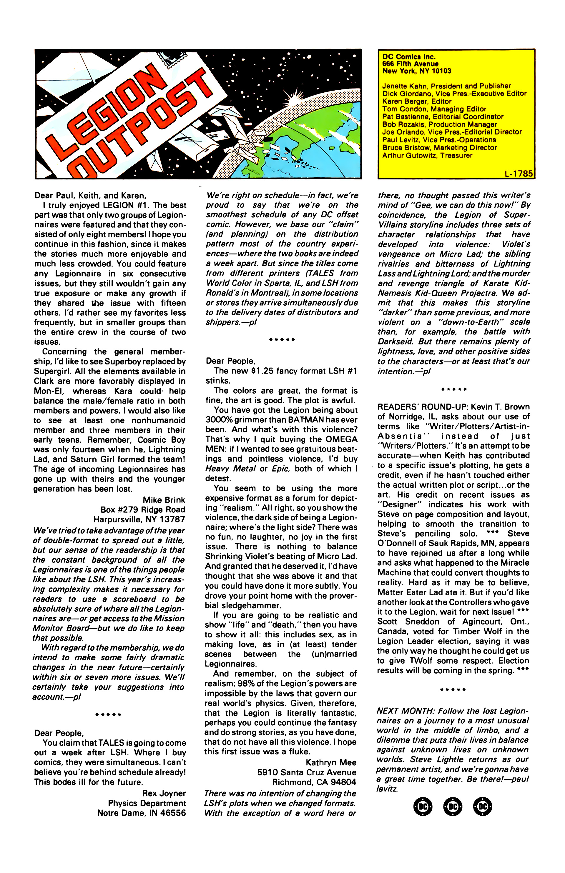 Legion of Super-Heroes (1984) 6 Page 24