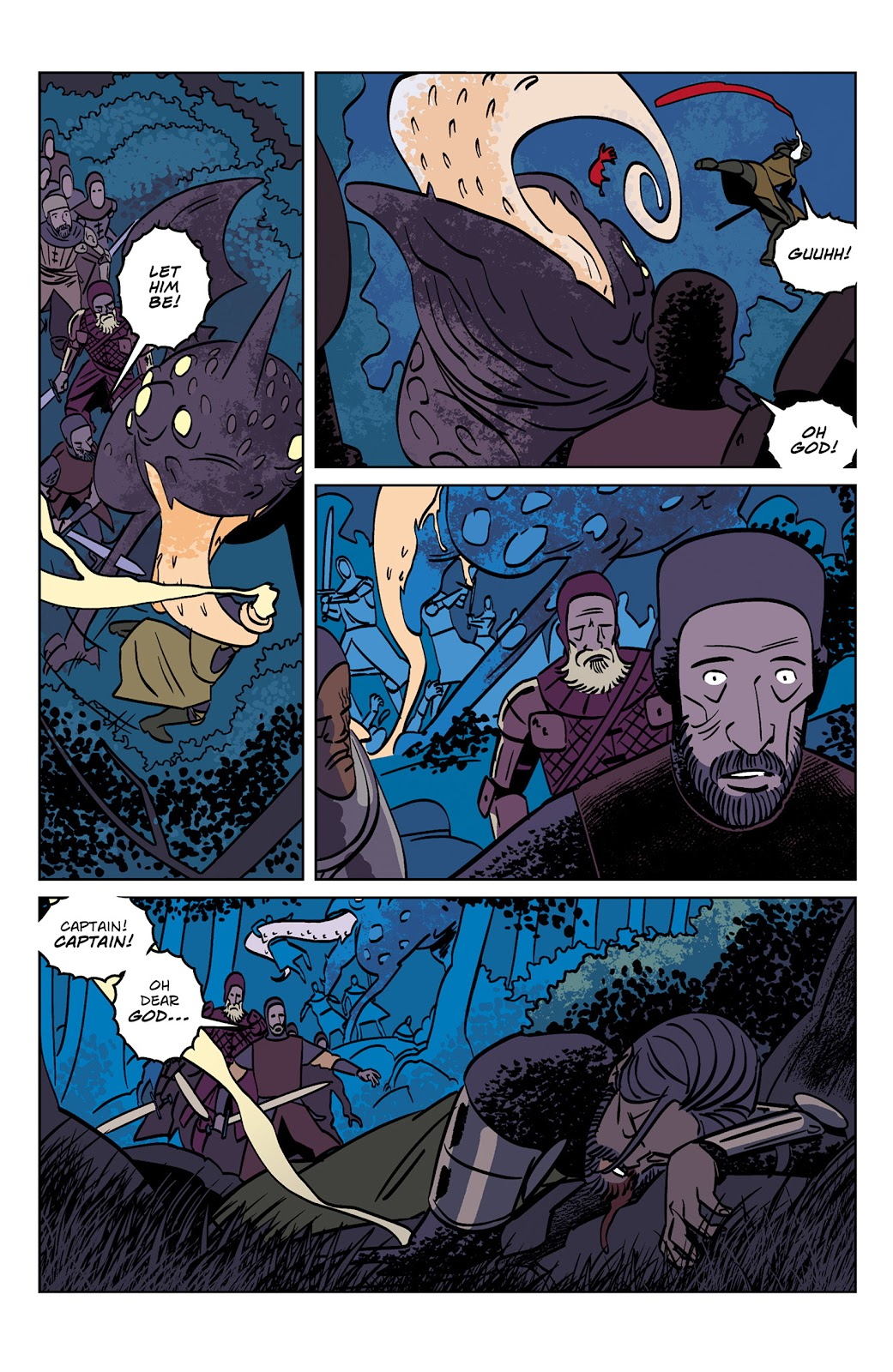 Read online Dark Ages comic -  Issue #1 - 12
