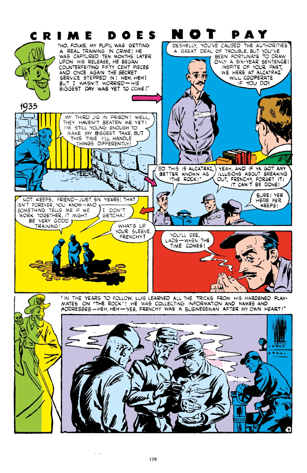 Read online Crime Does Not Pay Archives comic -  Issue # TPB 5 (Part 2) - 79
