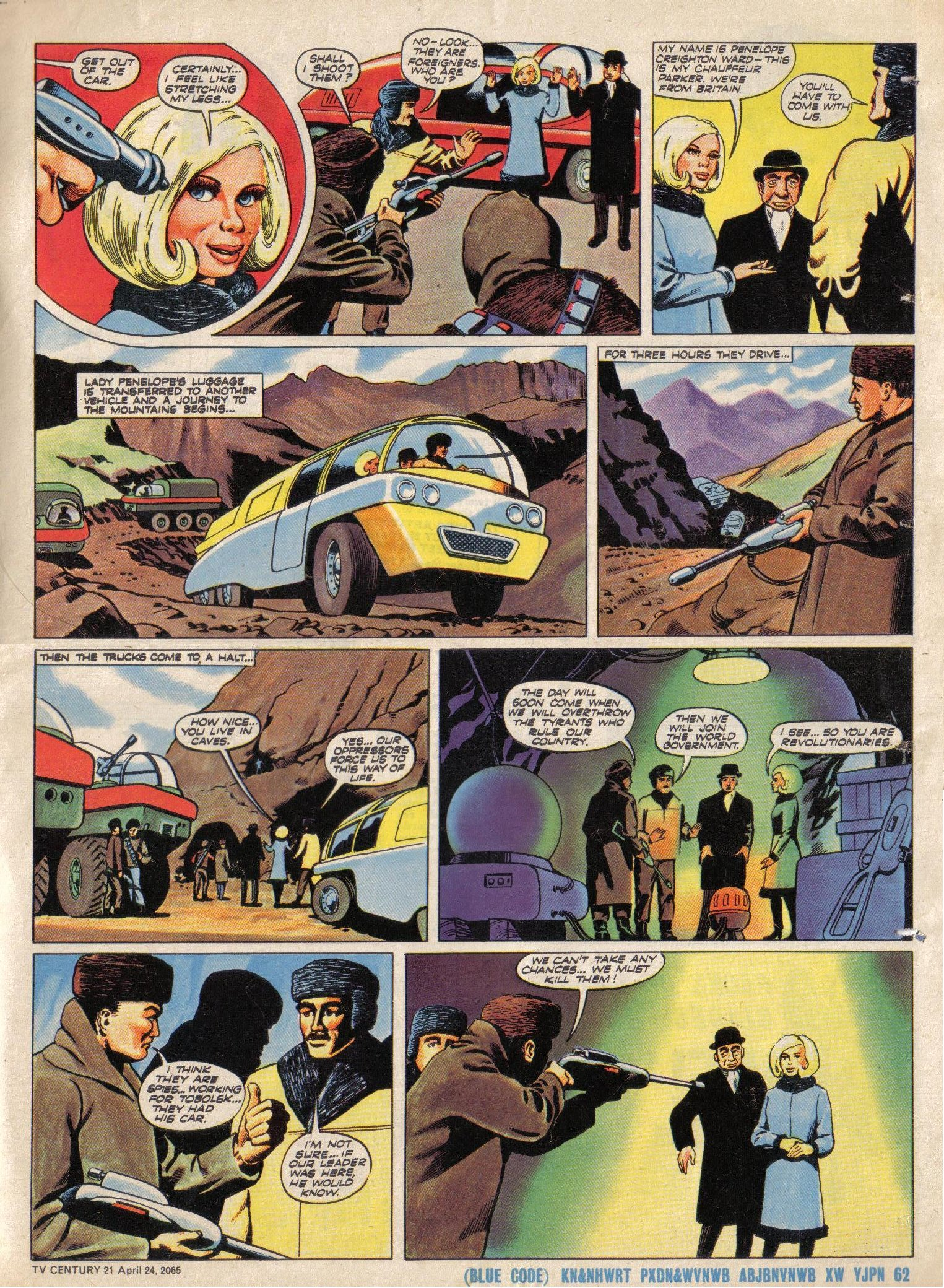 Read online TV Century 21 (TV 21) comic -  Issue #14 - 16