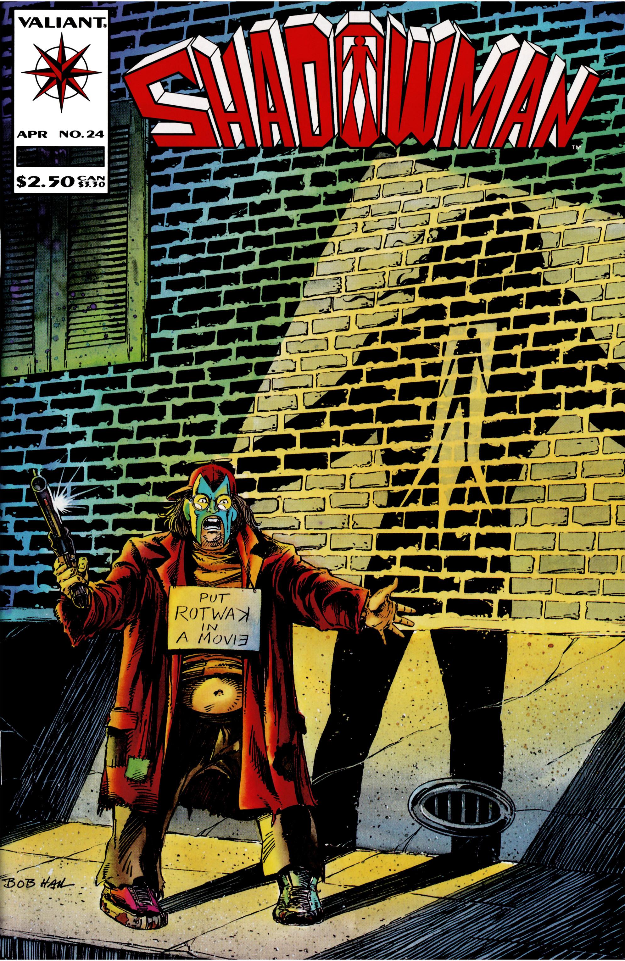 Read online Shadowman (1992) comic -  Issue #24 - 1