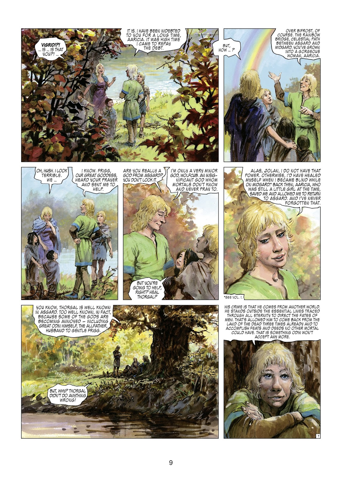 Read online Thorgal comic -  Issue #21 - 11