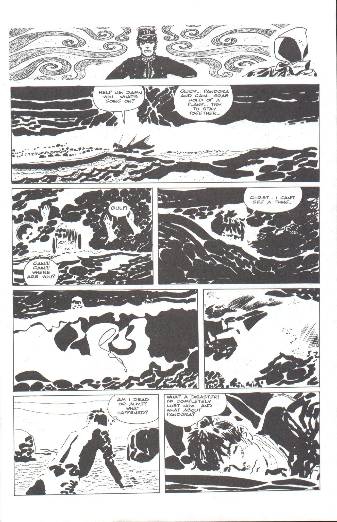 Read online Corto Maltese: Ballad of the Salt Sea comic -  Issue #2 - 3