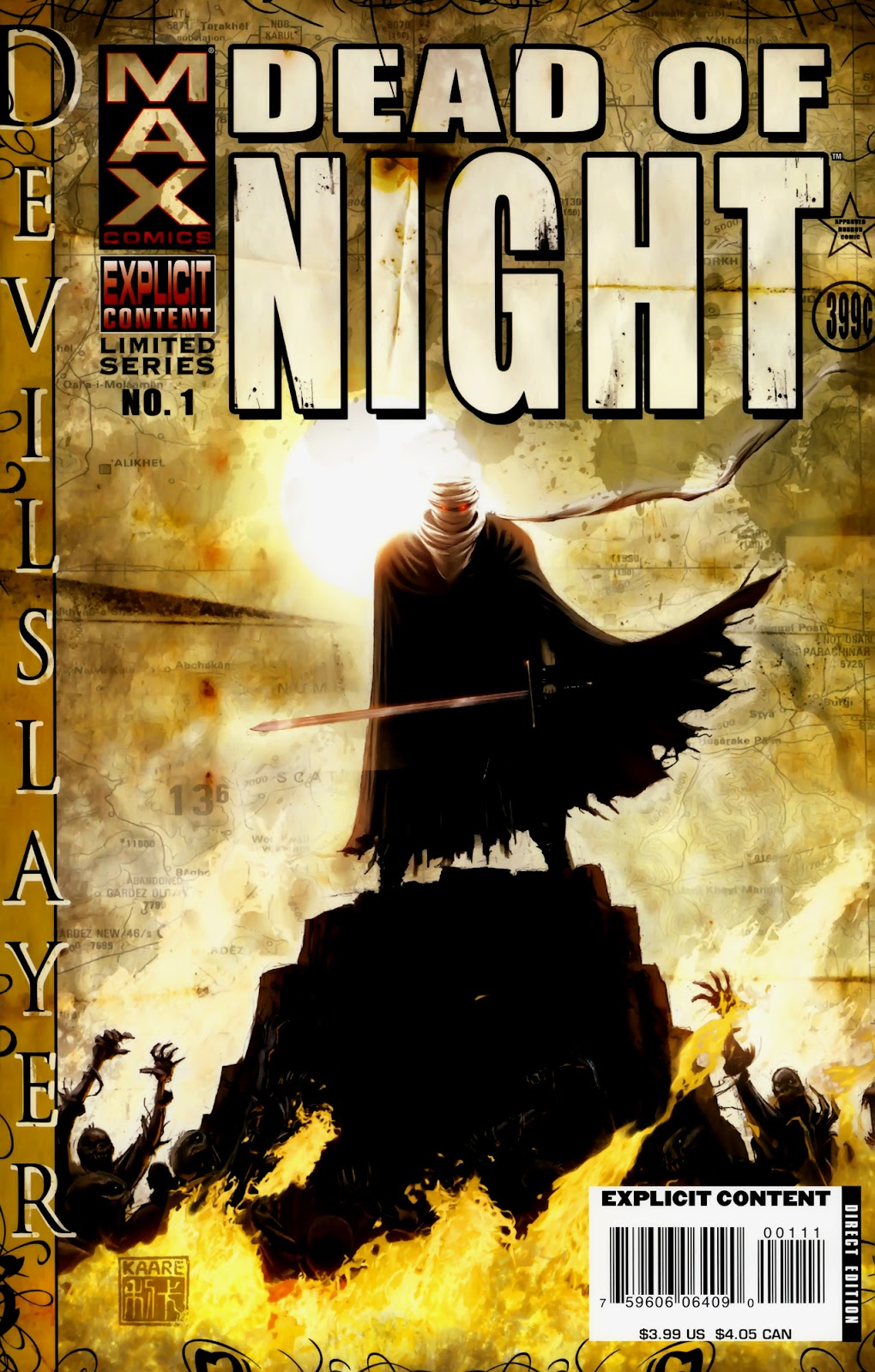 Dead of Night Featuring Devil-Slayer issue 1 - Page 1