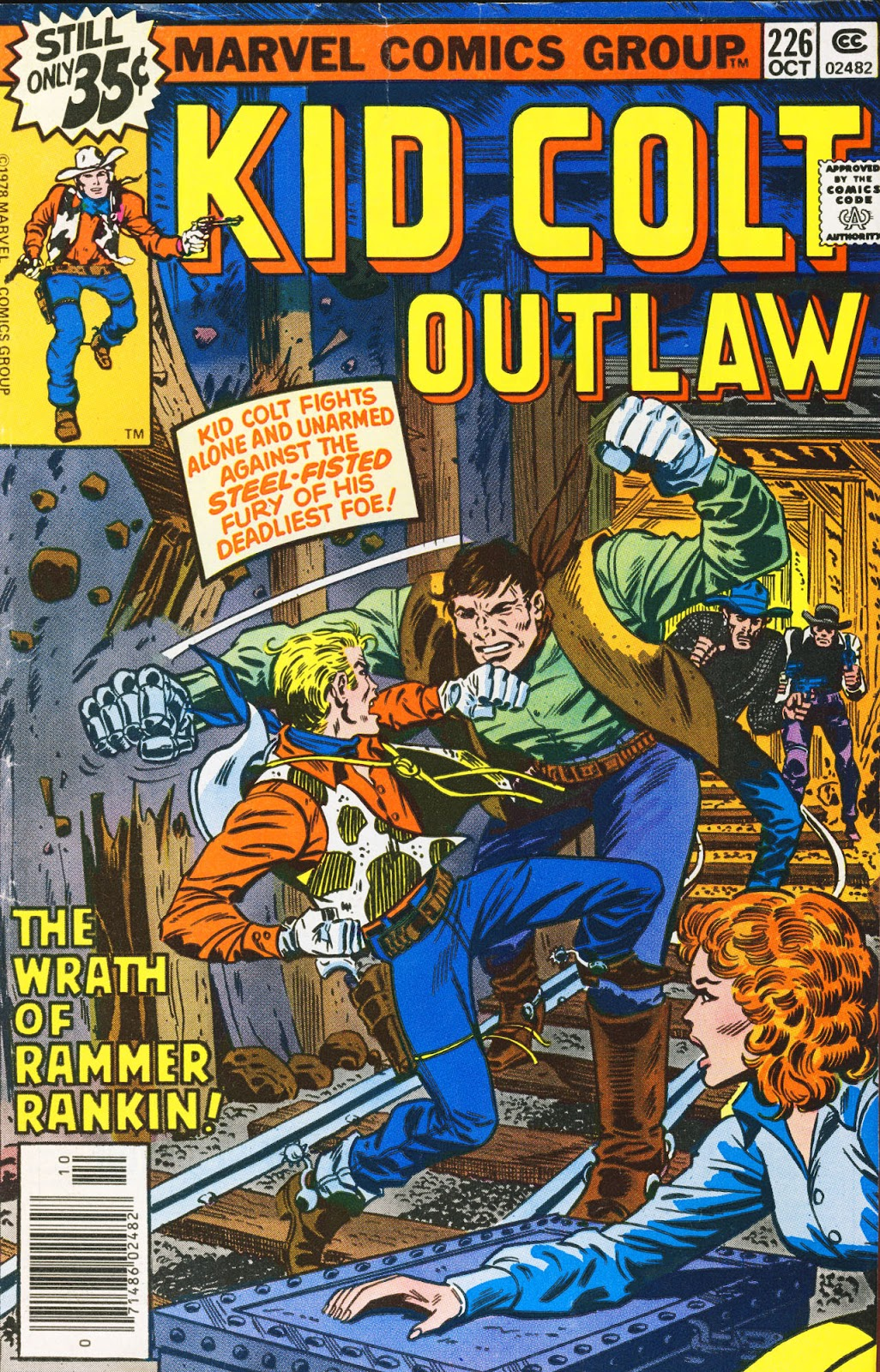 Kid Colt Outlaw issue 226 - Page 1