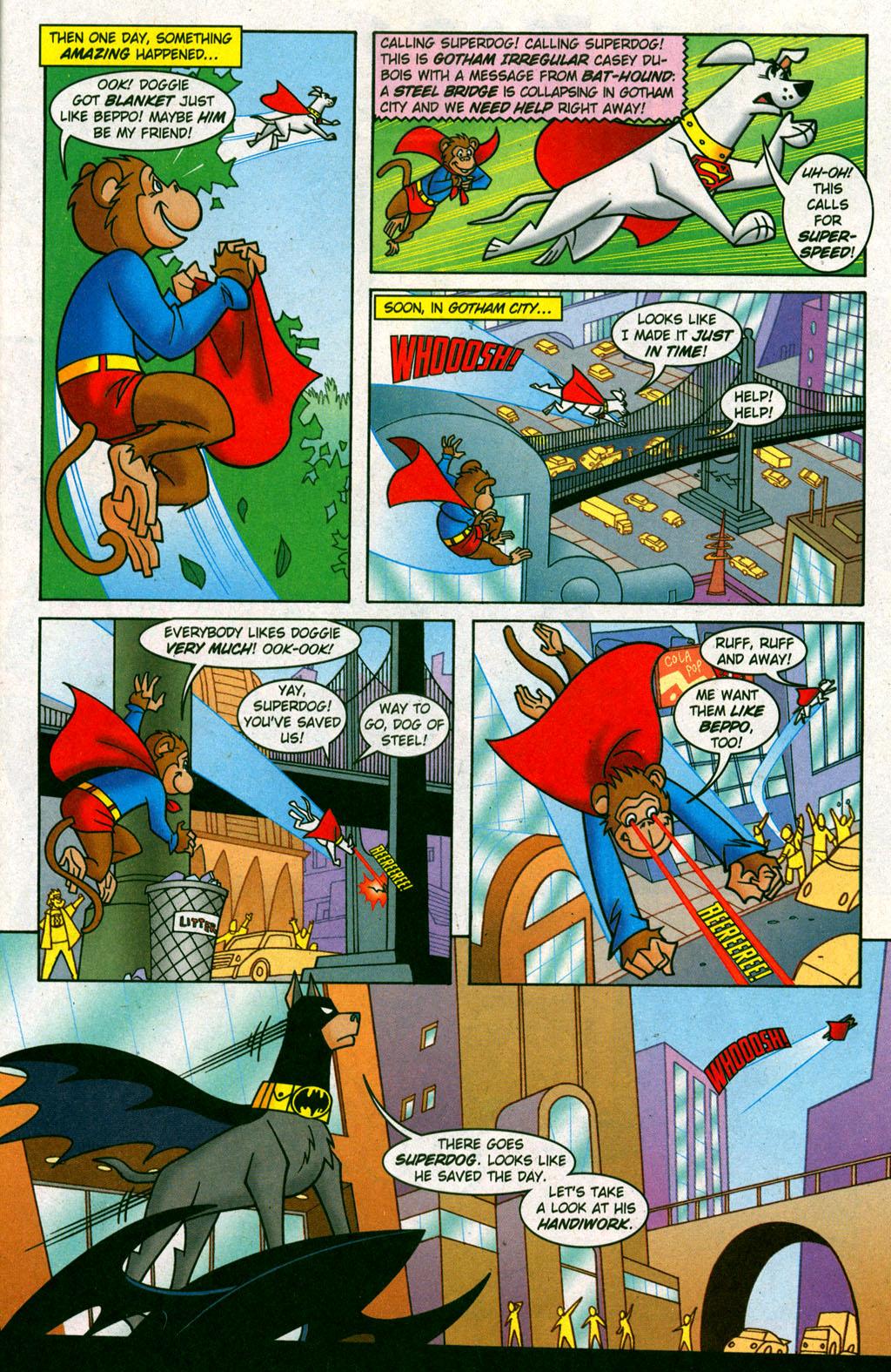 Read online Krypto the Superdog comic -  Issue #6 - 14
