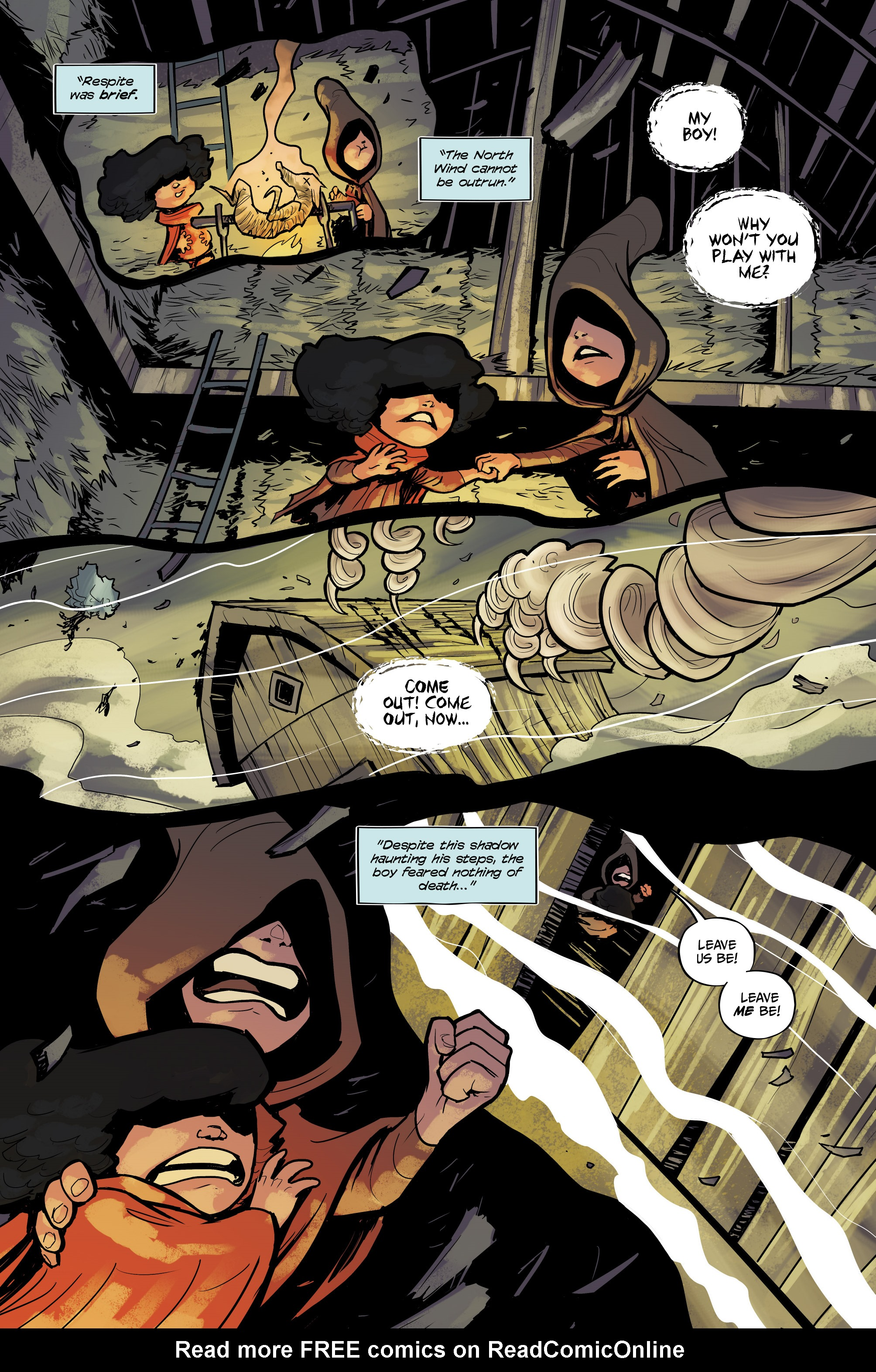 Read online Little Nightmares comic -  Issue #1 - 17