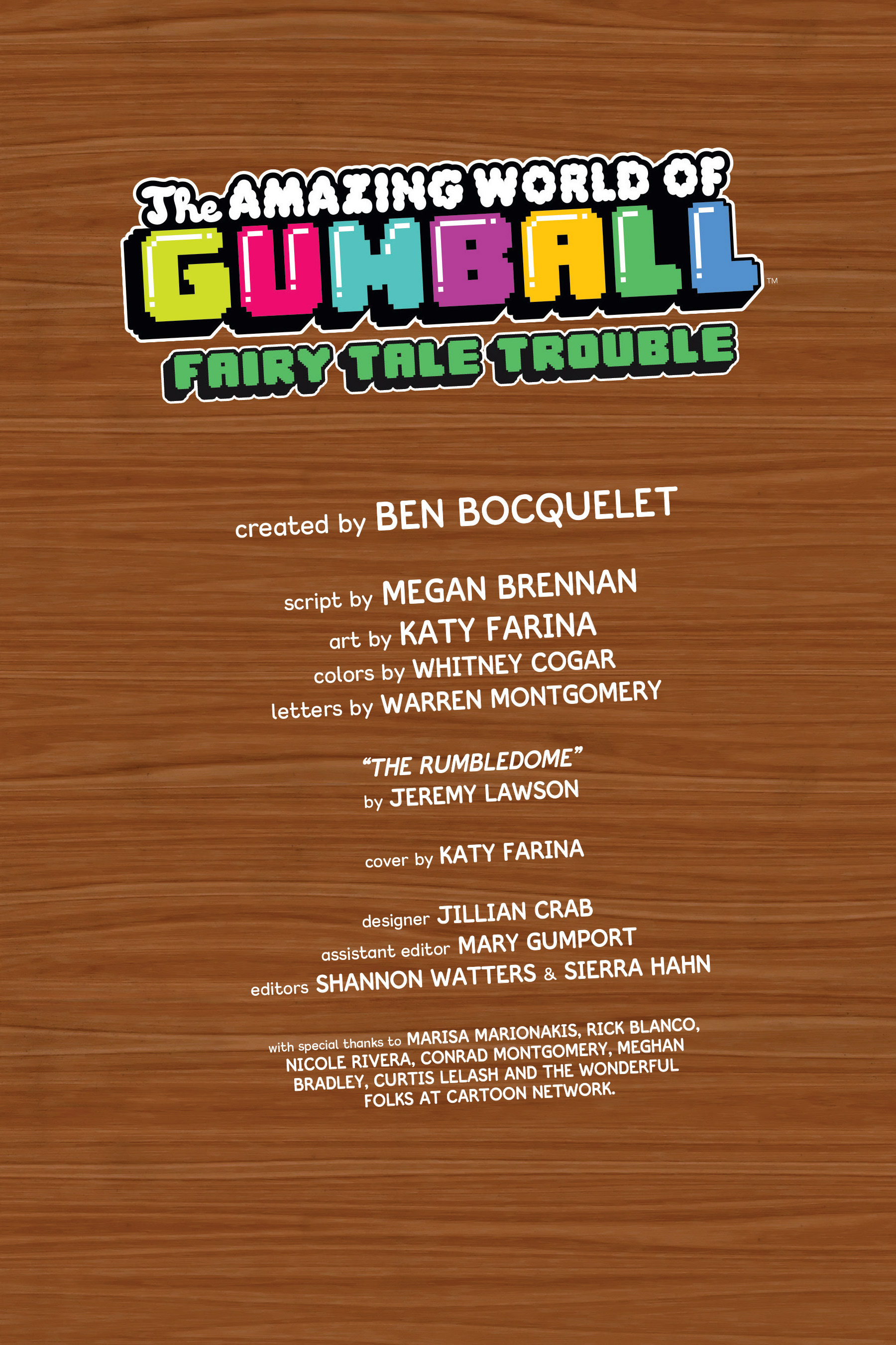Read online The Amazing World of Gumball: Fairy Tale Trouble comic -  Issue # Full - 4