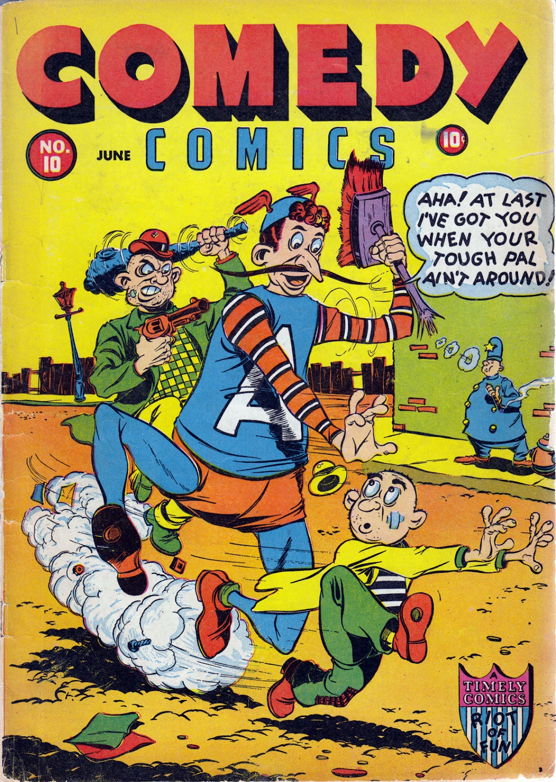 Read online Comedy Comics (1942) comic -  Issue #10 - 1