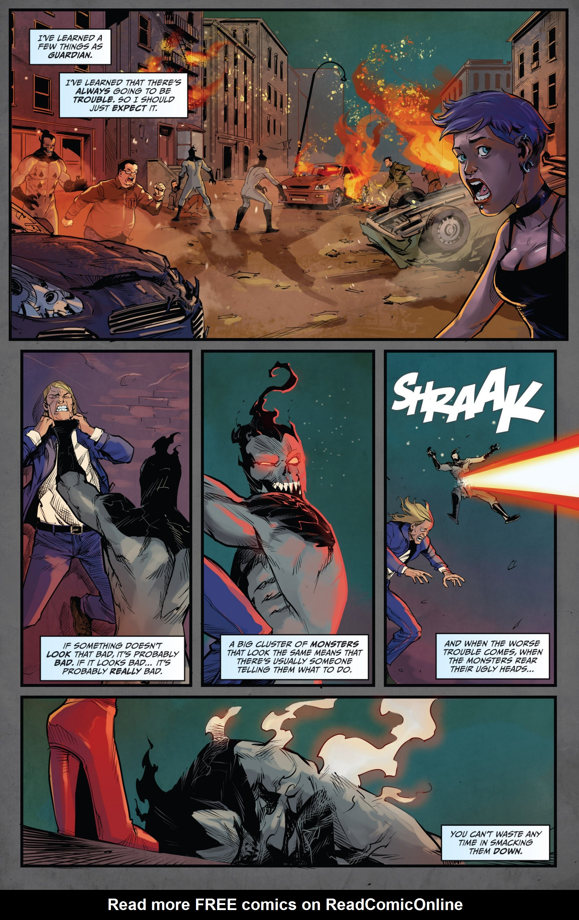 Read online Grimm Fairy Tales vs. Wonderland comic -  Issue #1 - 17