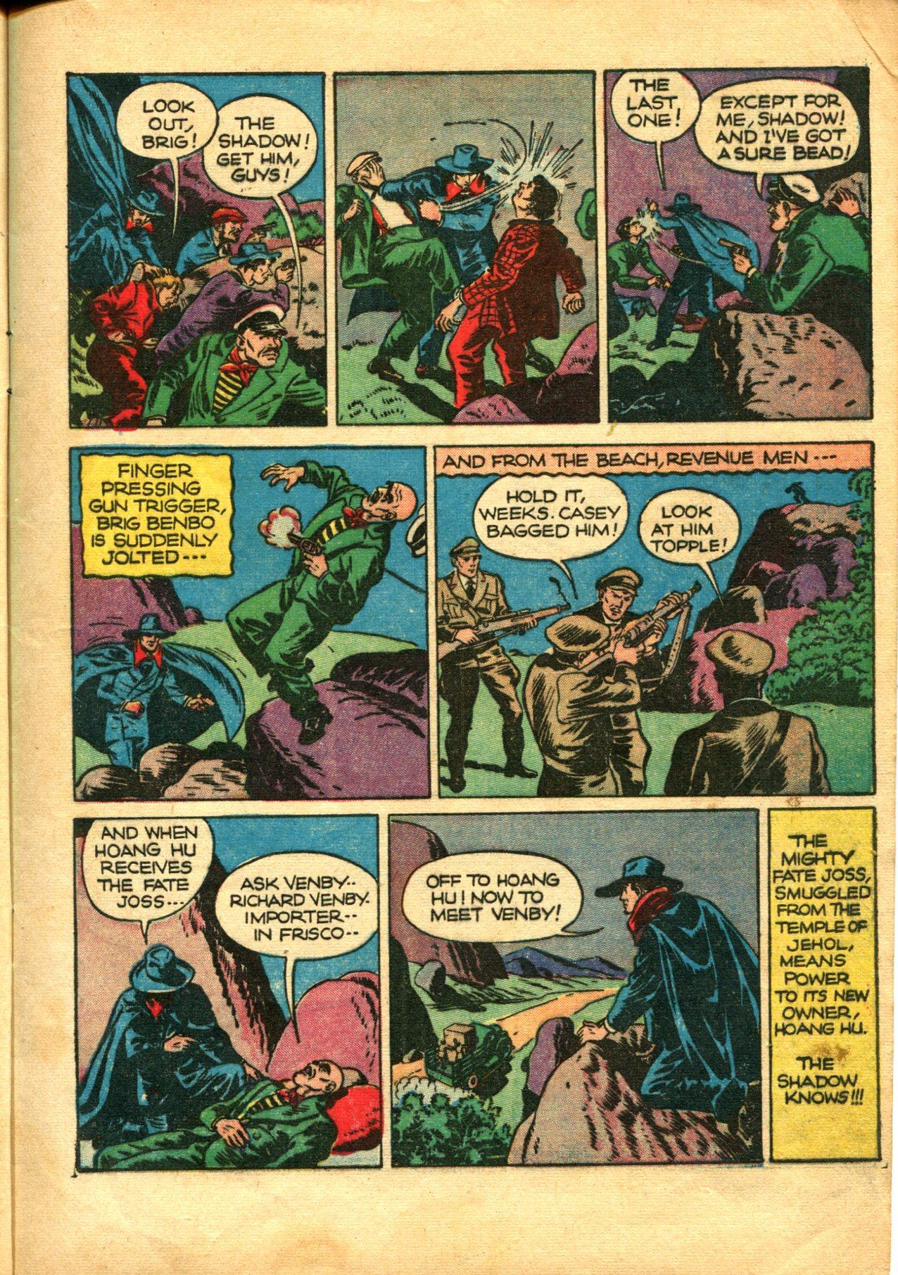 Read online Shadow Comics comic -  Issue #10 - 9