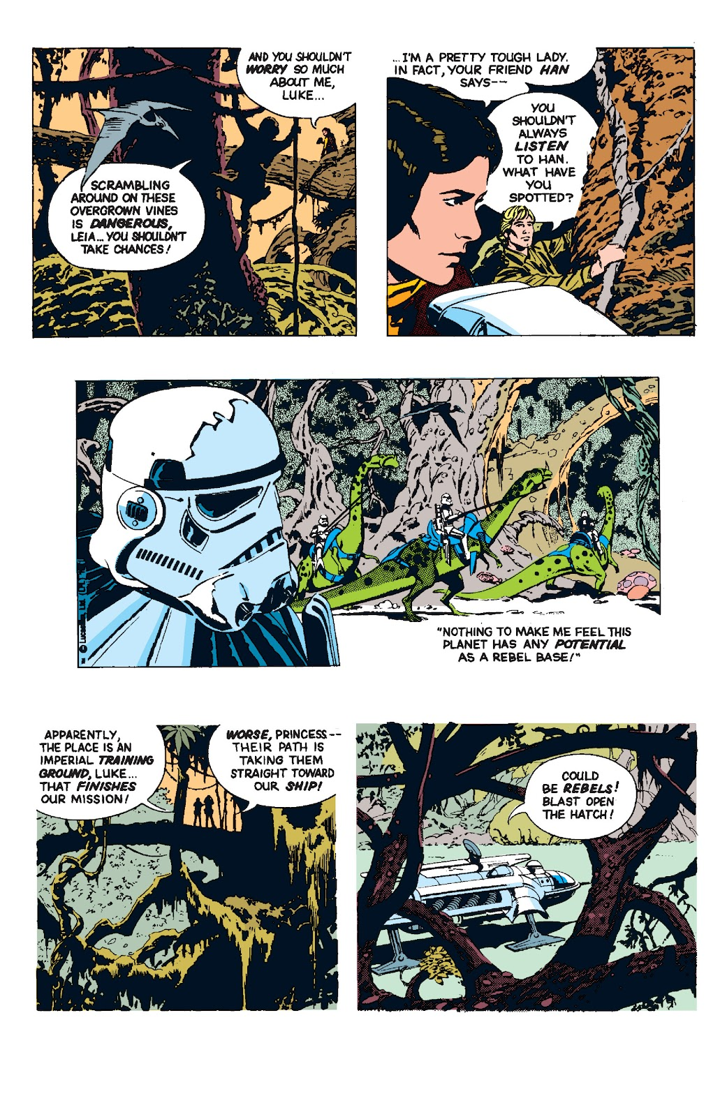 Read online Star Wars Legends: The Newspaper Strips - Epic Collection comic -  Issue # TPB (Part 4) - 84