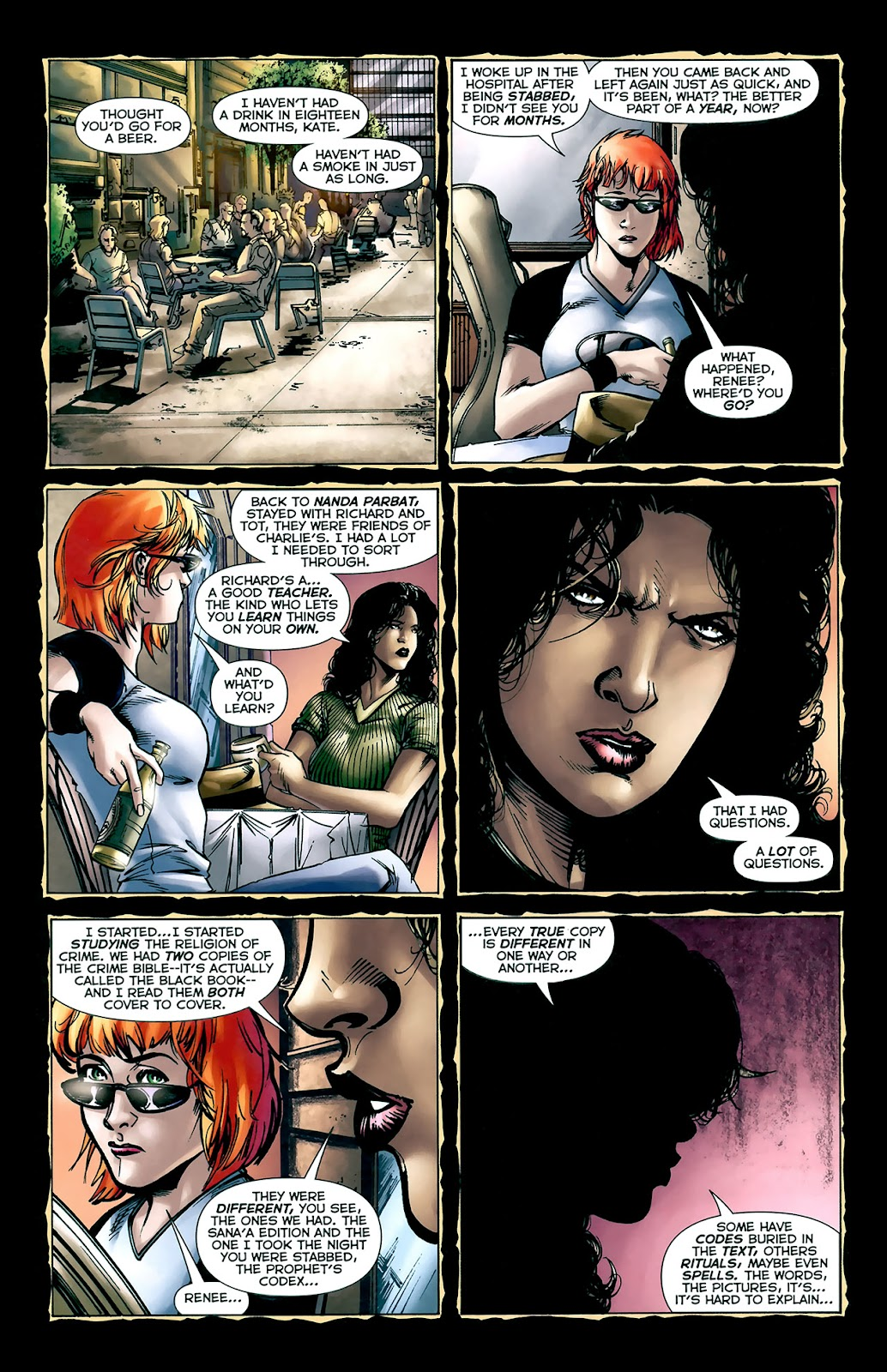 Crime Bible: The Five Lessons of Blood issue 3 - Page 10