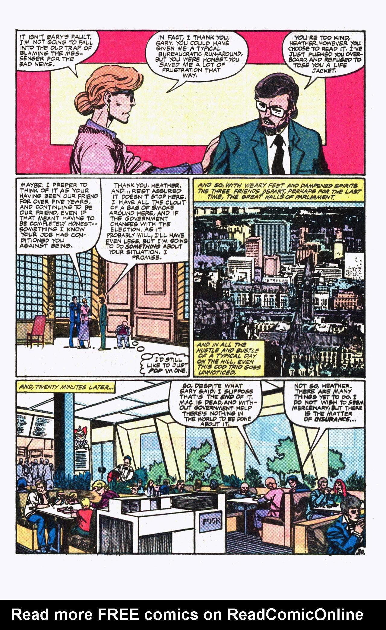 Read online Alpha Flight (1983) comic -  Issue #13 - 21
