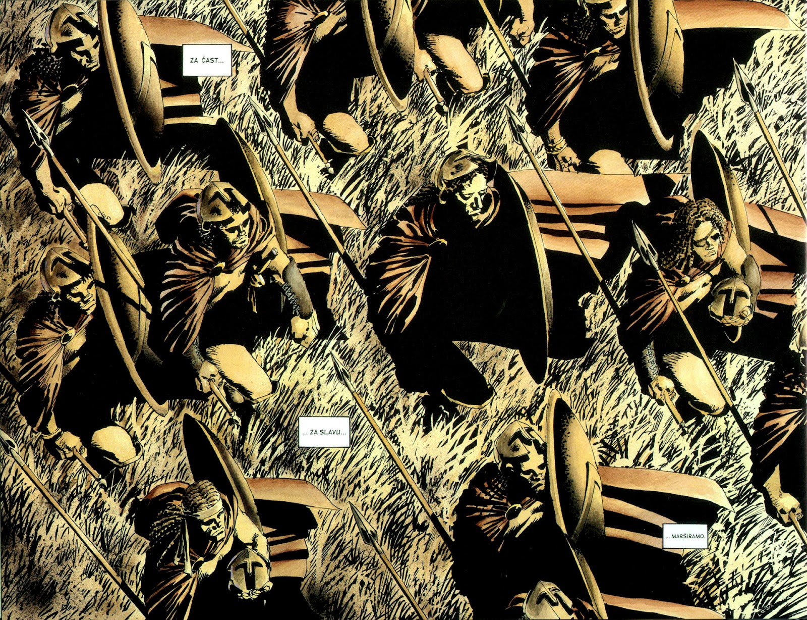 Read online 300 (2007) comic -  Issue # TPB - 9