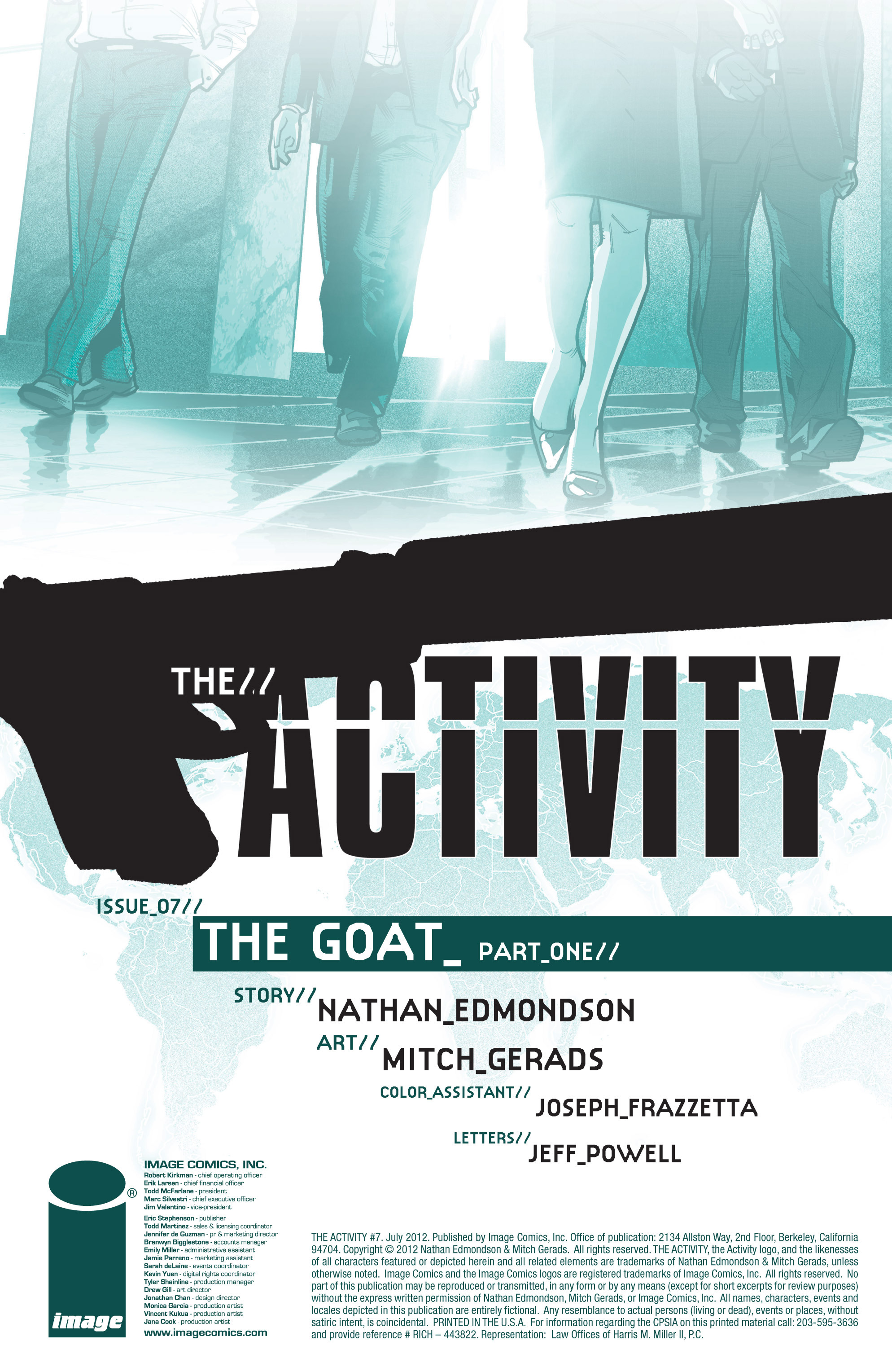 Read online The Activity comic -  Issue #7 - 2