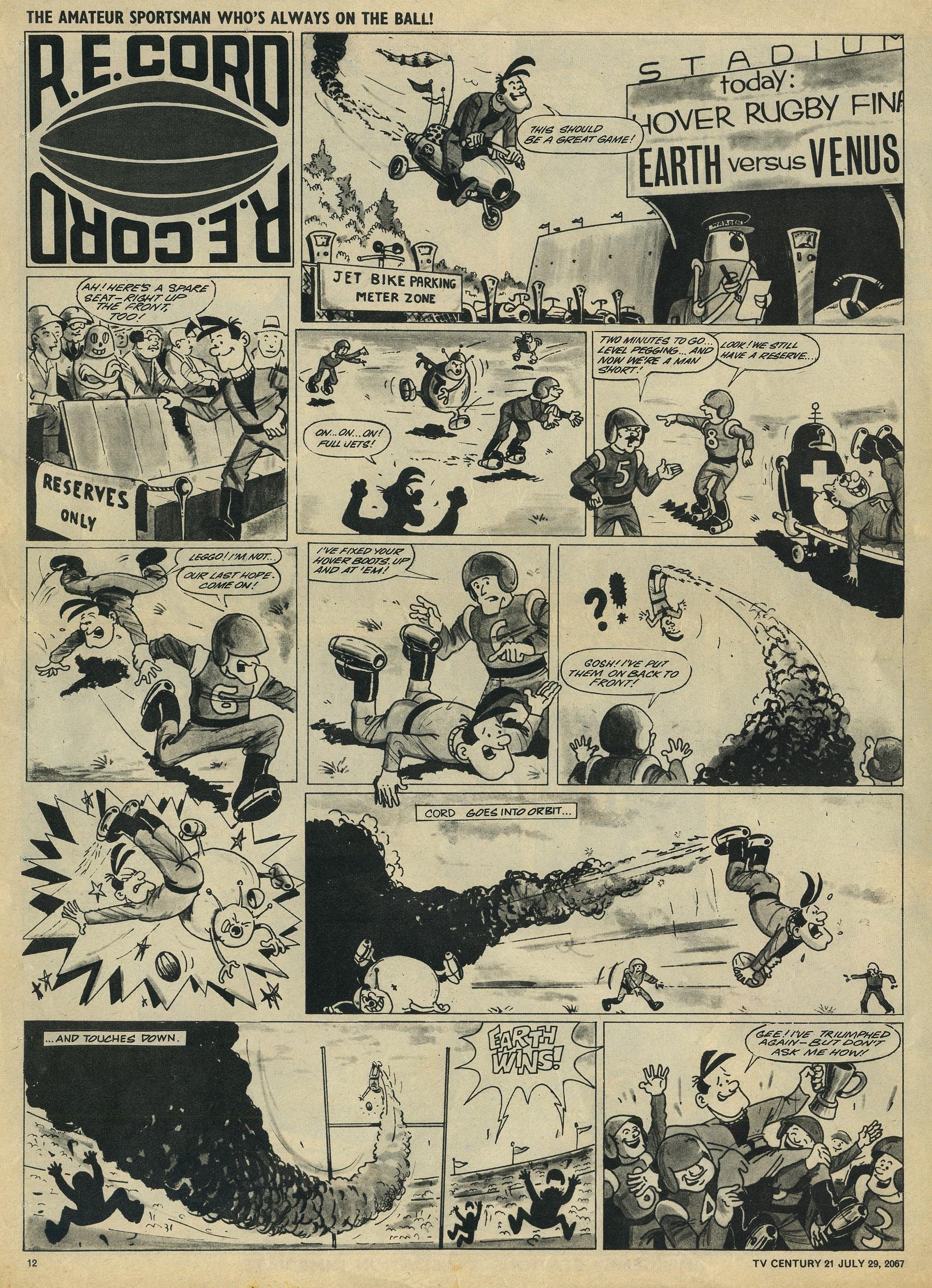 Read online TV Century 21 (TV 21) comic -  Issue #132 - 11