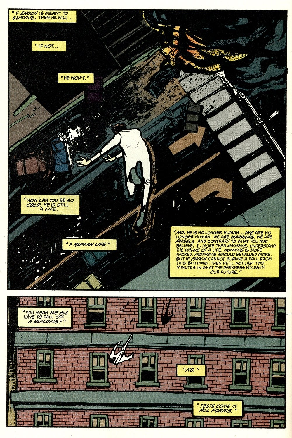 Read online Ted McKeever's Metropol comic -  Issue #8 - 12