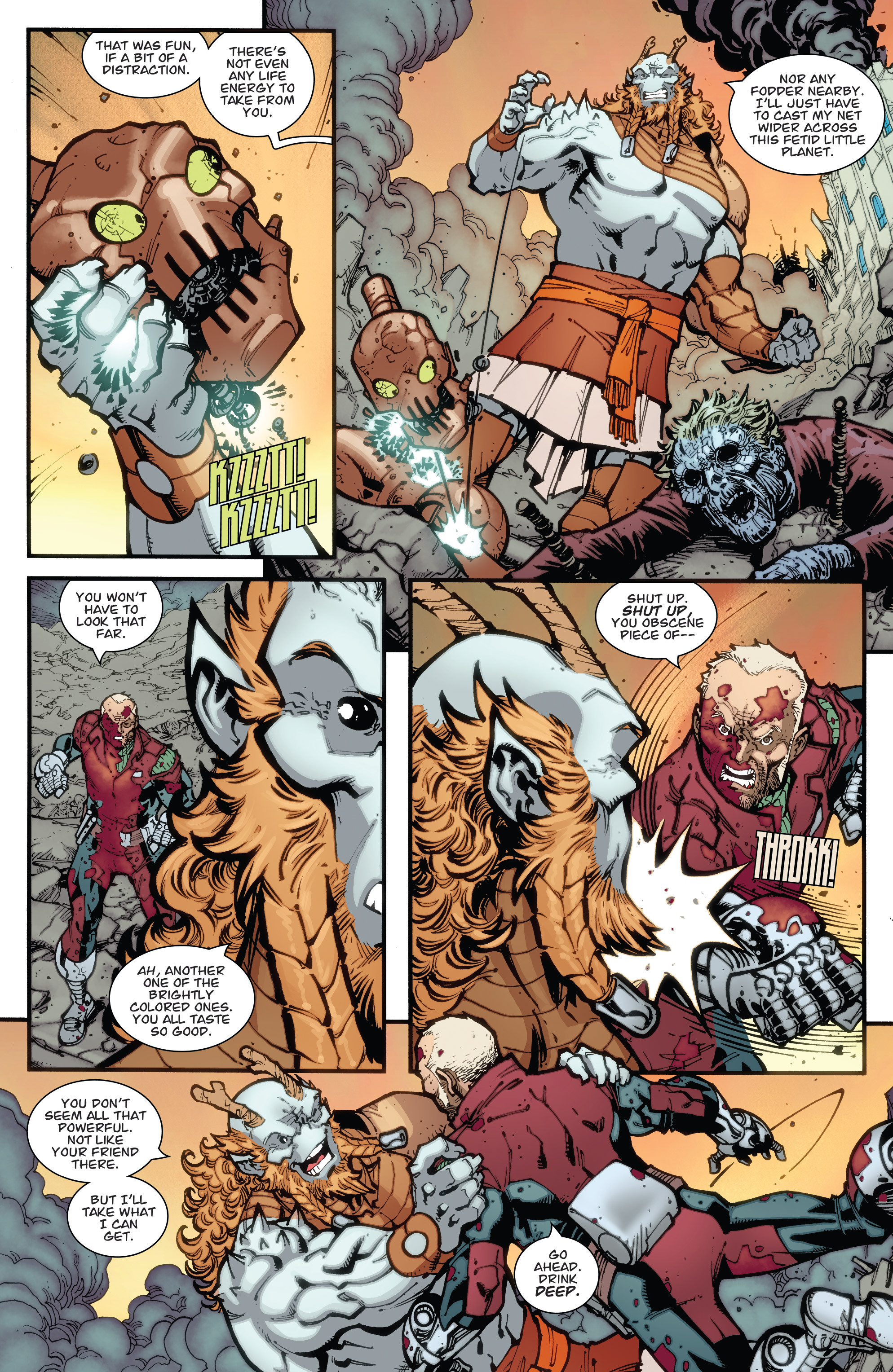 Read online Guarding the Globe (2012) comic -  Issue #6 - 18