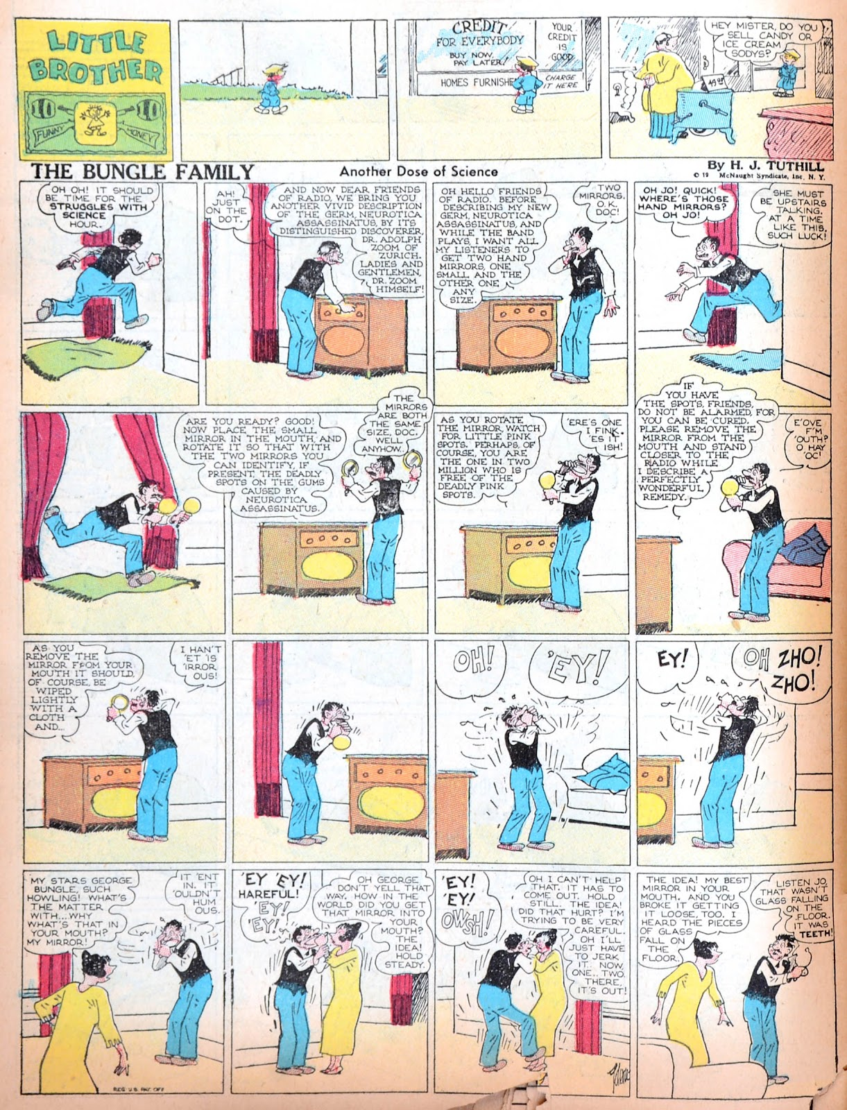 Read online Famous Funnies comic -  Issue #11 - 65