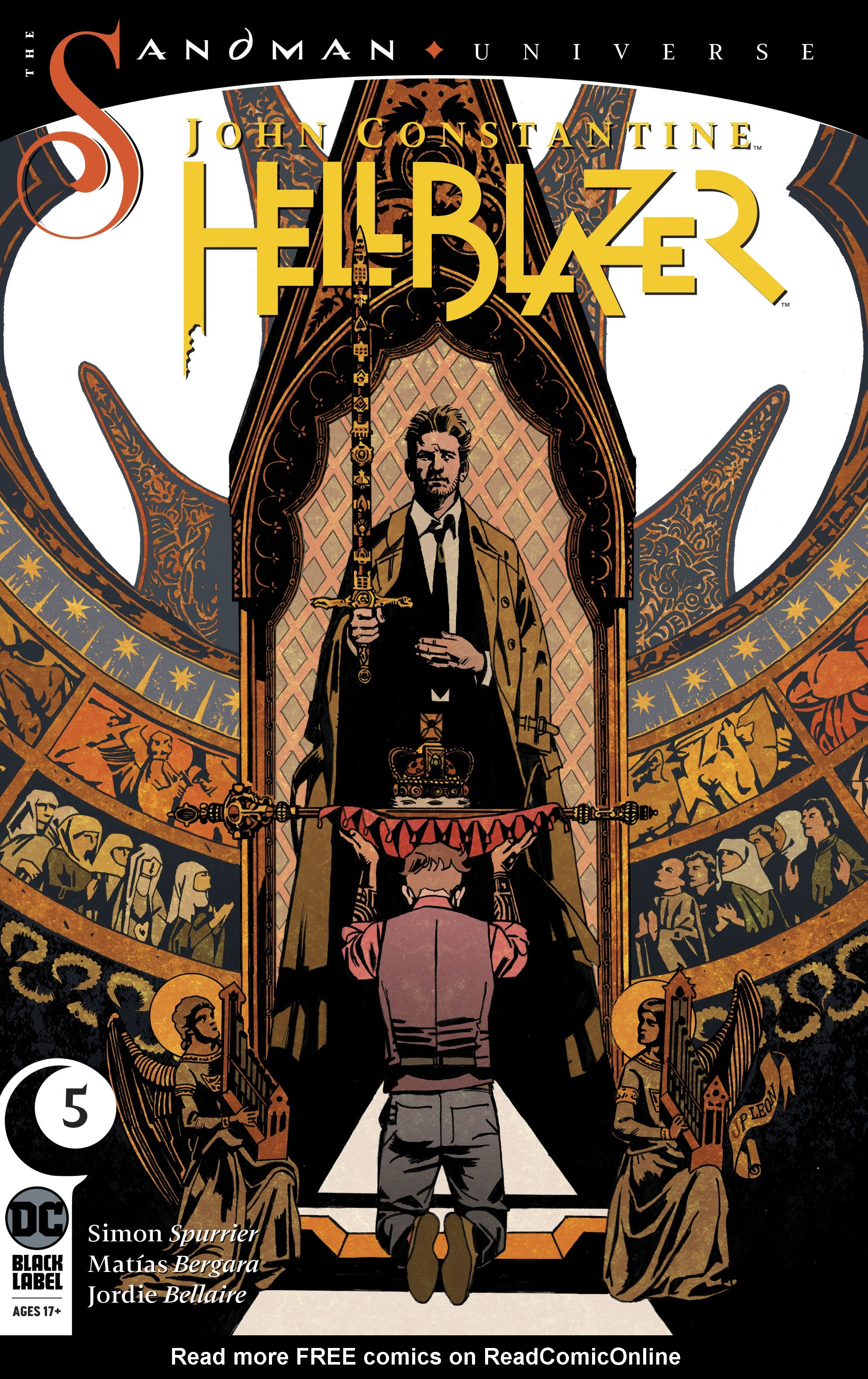John Constantine: Hellblazer 5 Page 1