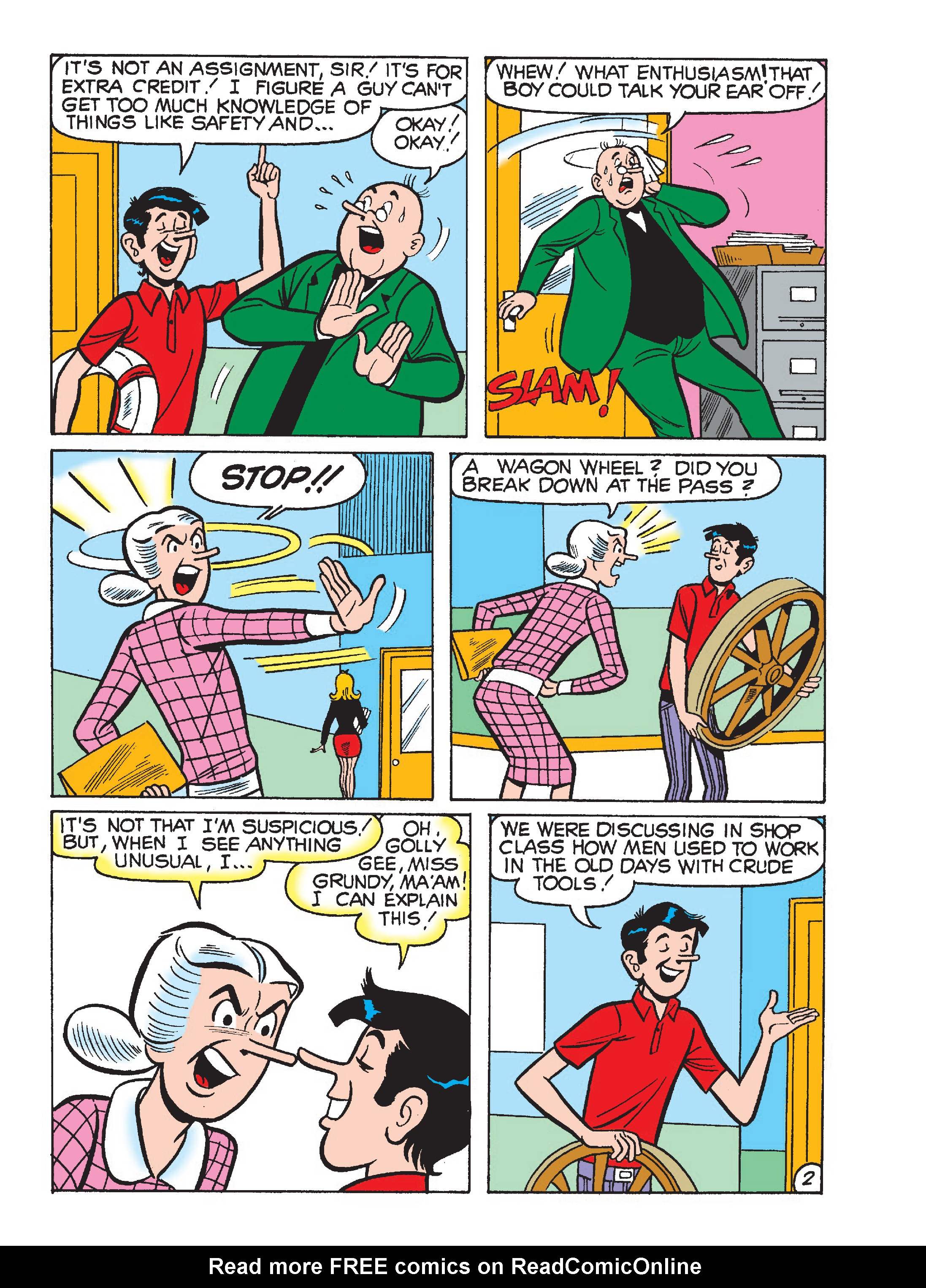 Read online World of Archie Double Digest comic -  Issue #64 - 110