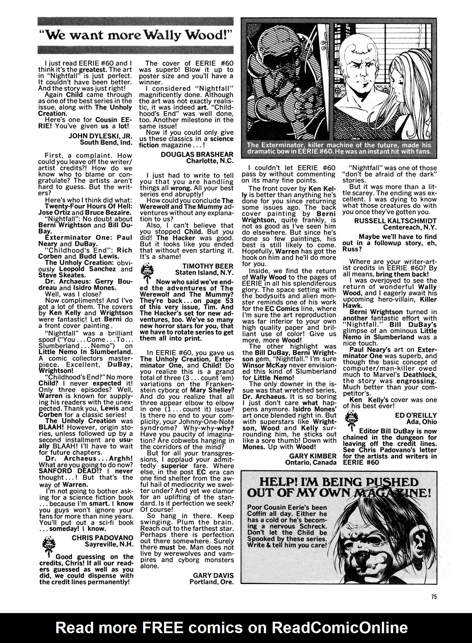 Read online Eerie Archives comic -  Issue # TPB 13 - 76