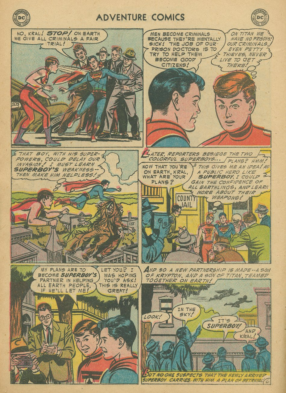Read online Adventure Comics (1938) comic -  Issue #205 - 9