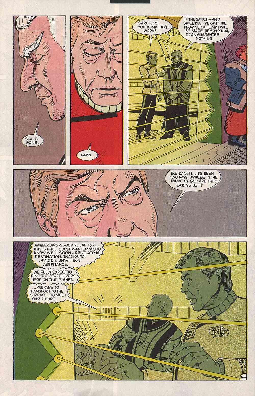 Read online Star Trek (1989) comic -  Issue # Annual 3 - 48