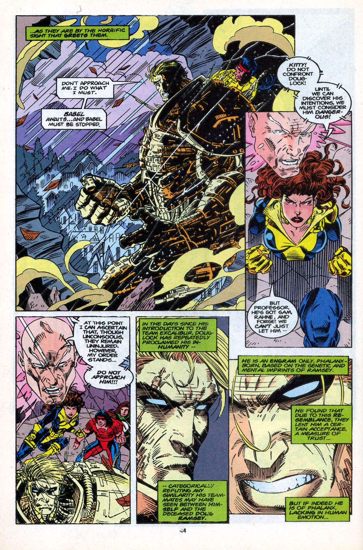 Read online X-Factor (1986) comic -  Issue #106 - 44