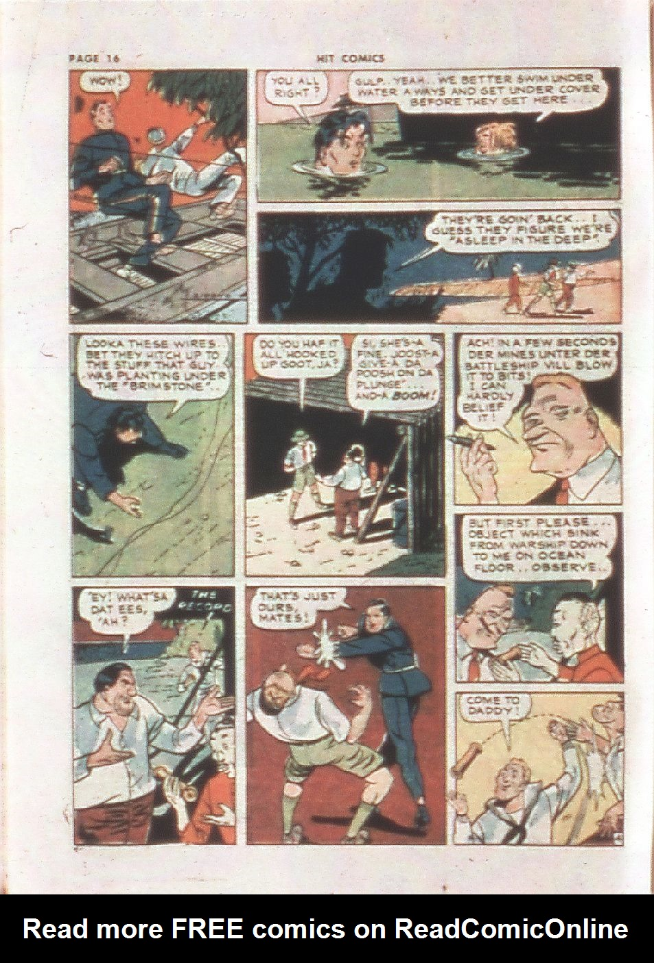 Read online Hit Comics comic -  Issue #21 - 18